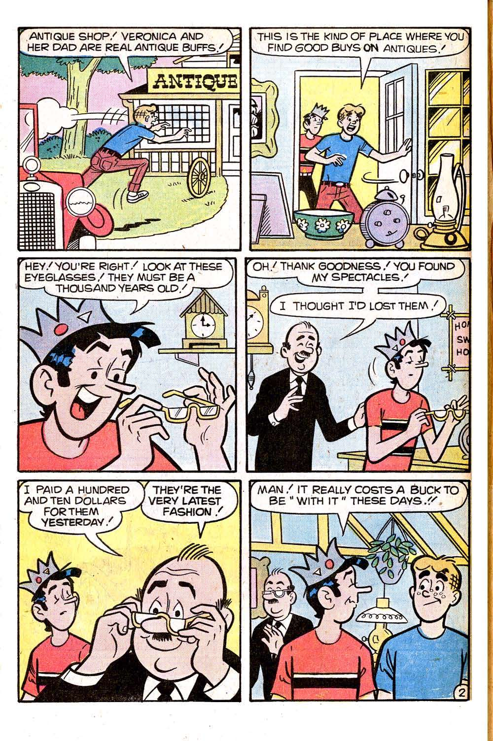 Read online Archie (1960) comic -  Issue #266 - 4