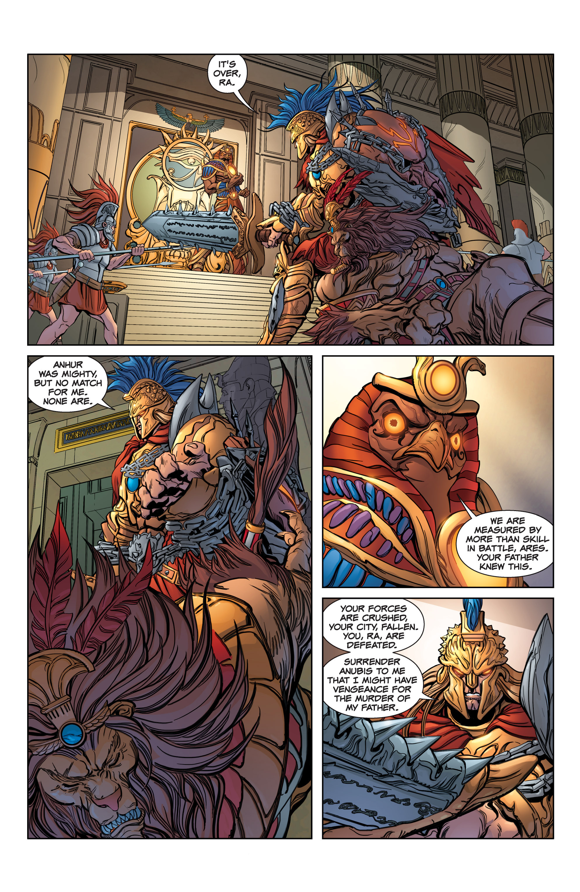 Read online SMITE: The Pantheon War comic -  Issue #3 - 4