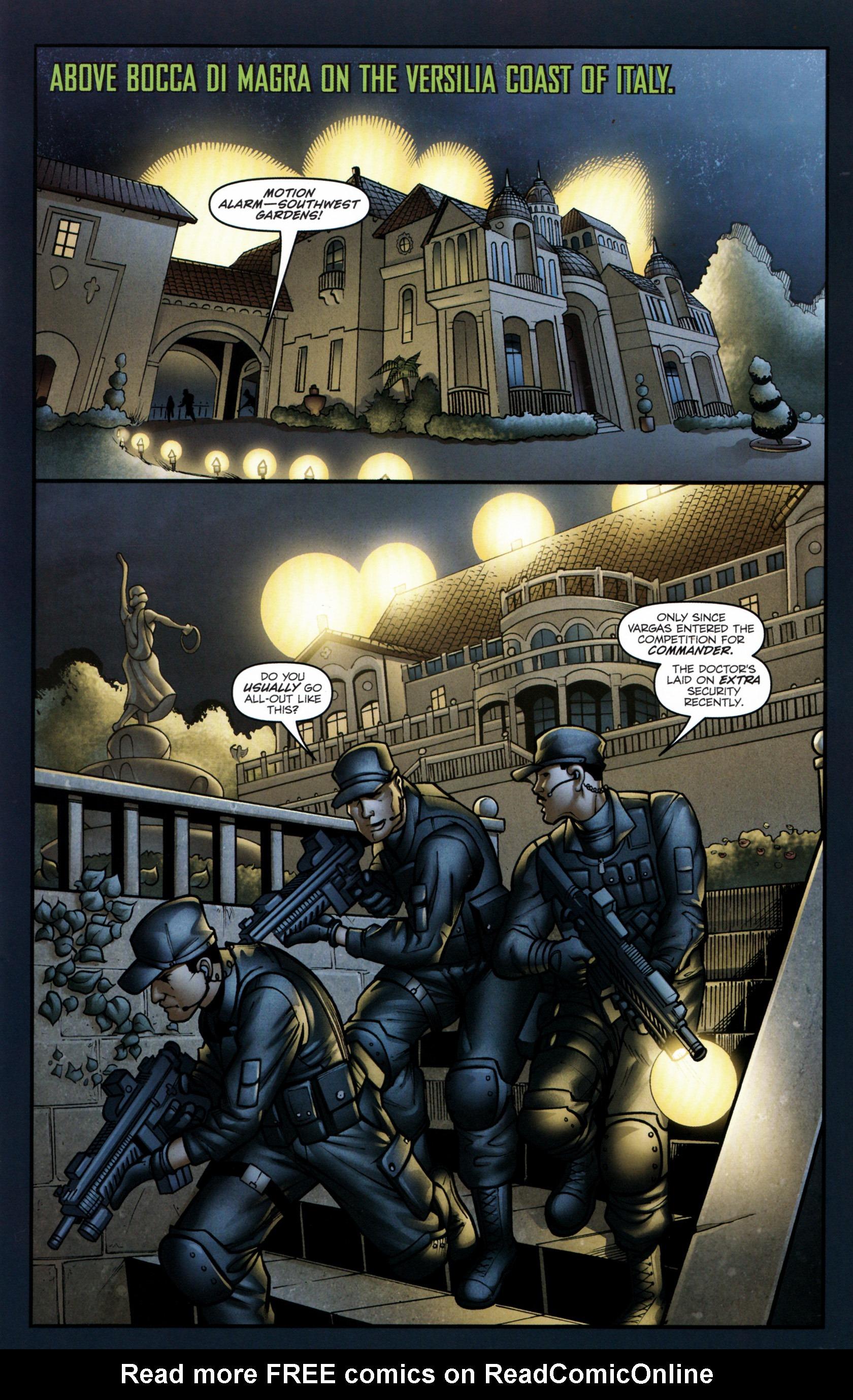 Read online G.I. Joe: Snake Eyes comic -  Issue #6 - 8