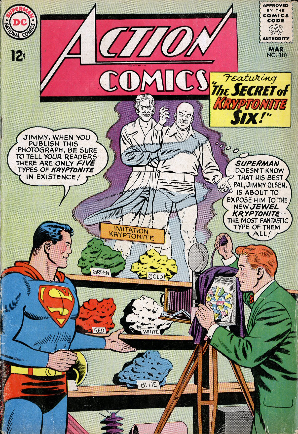 Read online Action Comics (1938) comic -  Issue #310 - 1