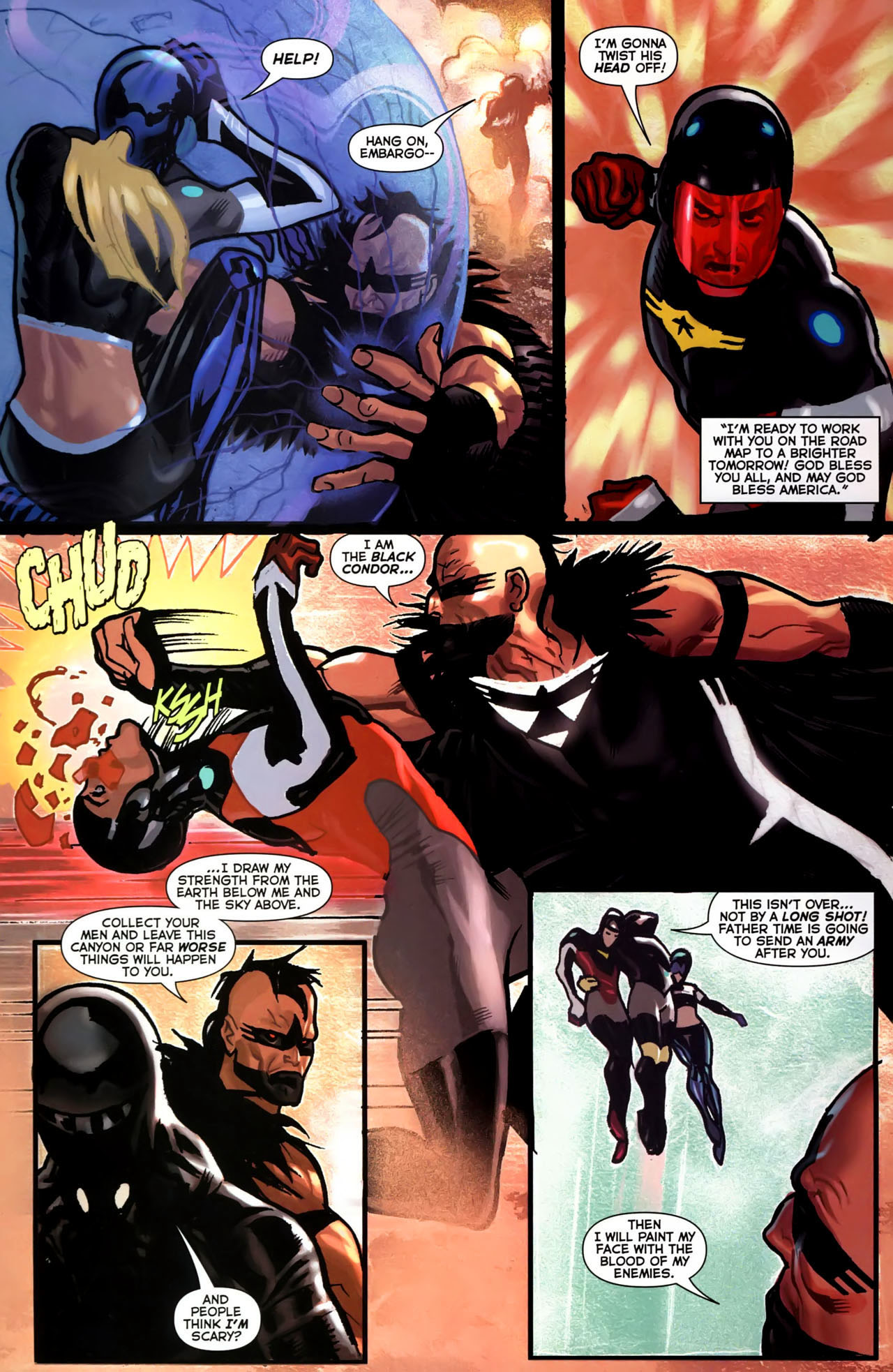 Read online Uncle Sam and the Freedom Fighters (2006) comic -  Issue #4 - 5