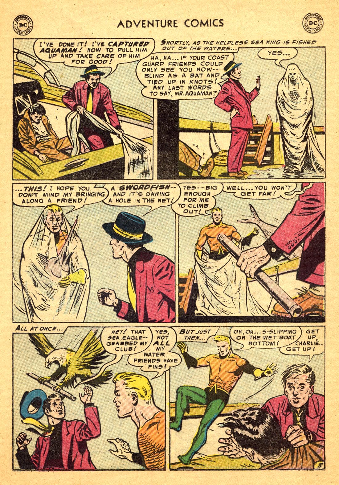 Read online Adventure Comics (1938) comic -  Issue #217 - 21