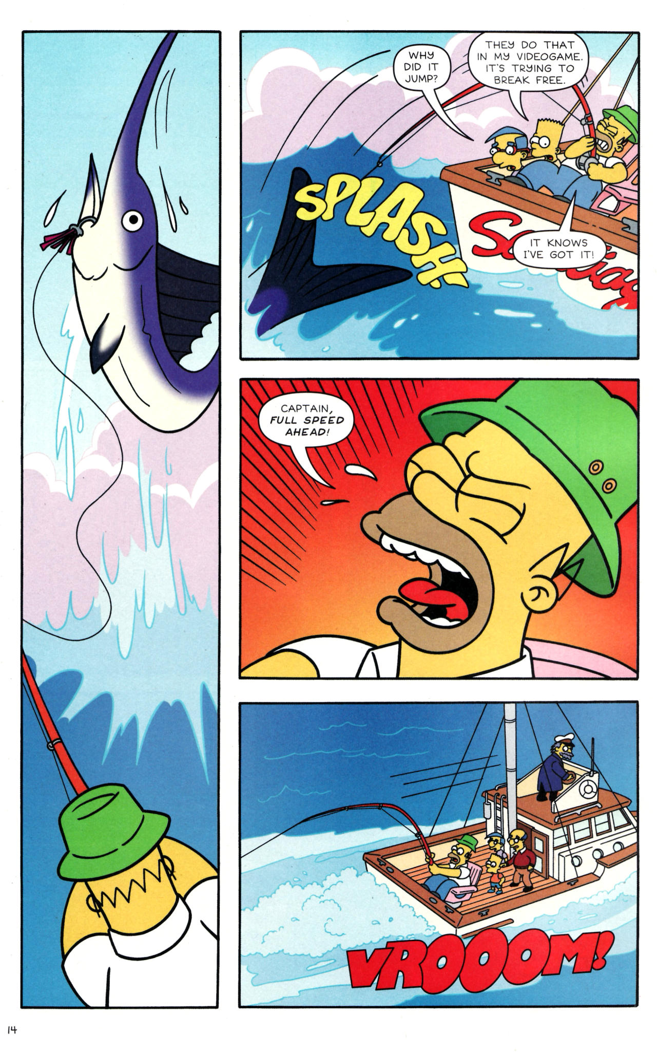Read online Simpsons Comics comic -  Issue #135 - 13