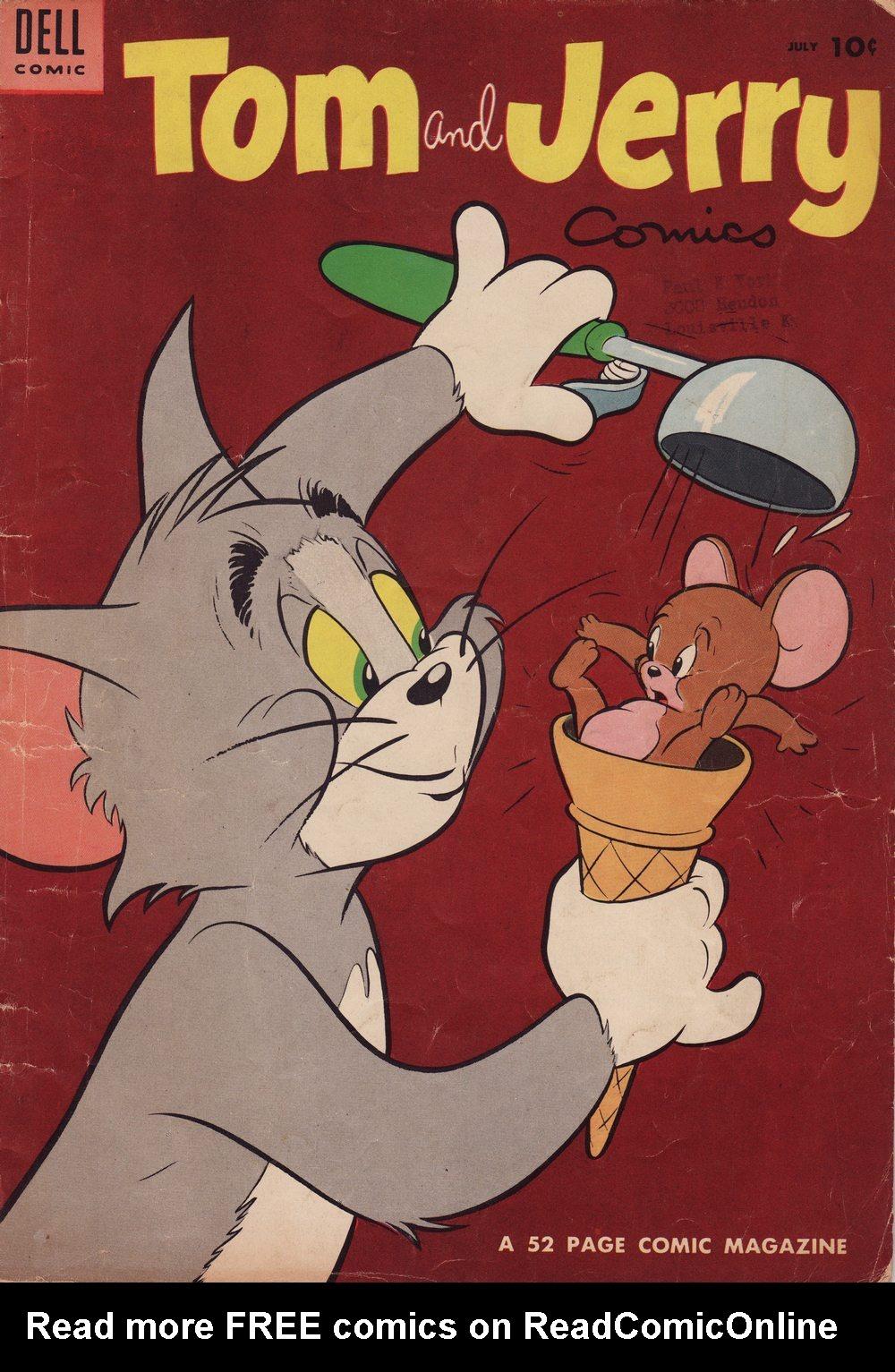 Tom & Jerry Comics 120 Page 1