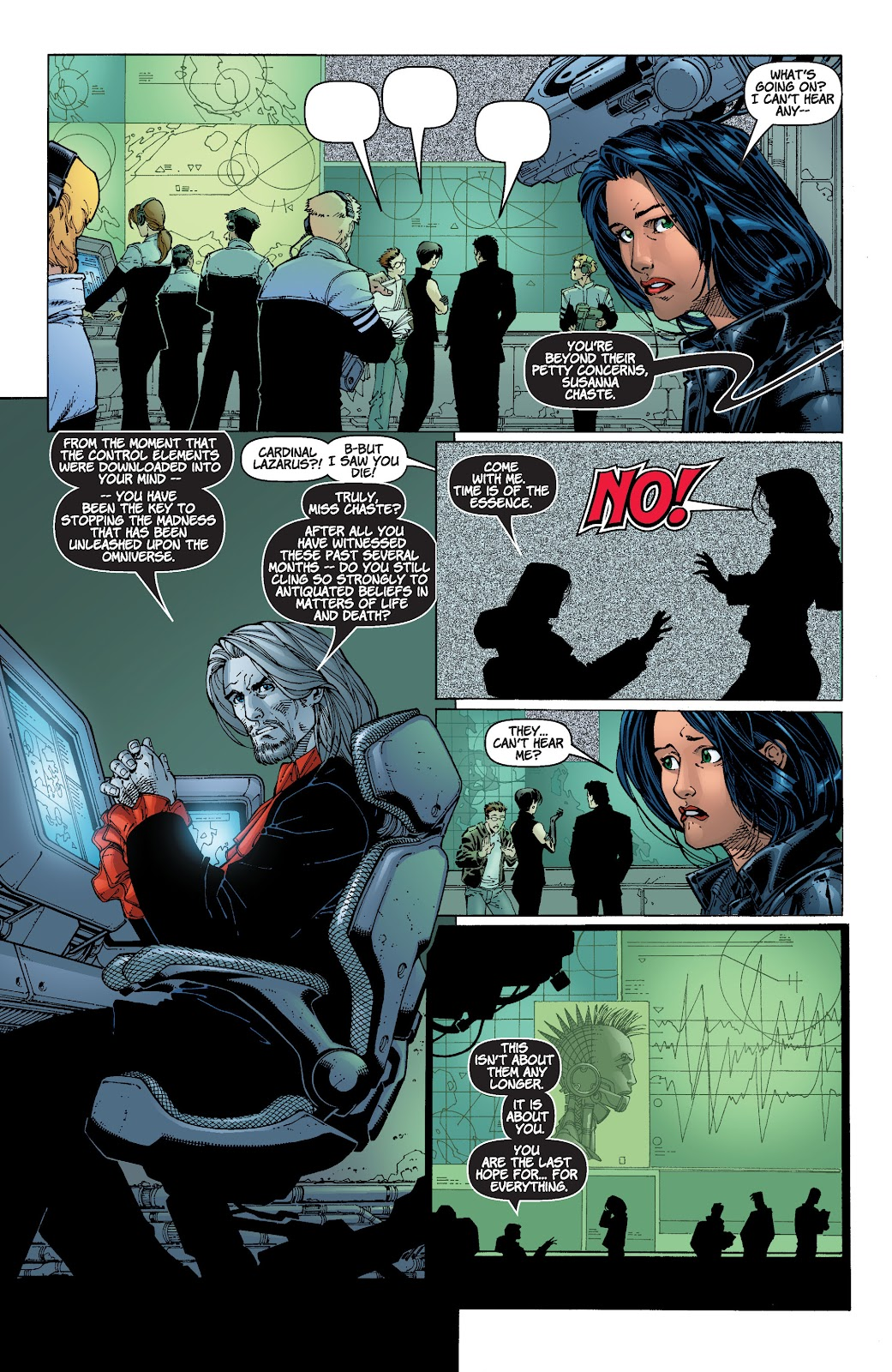Read online Divine Right comic -  Issue # _TPB The Adventures of Max Faraday (Part 4) - 14