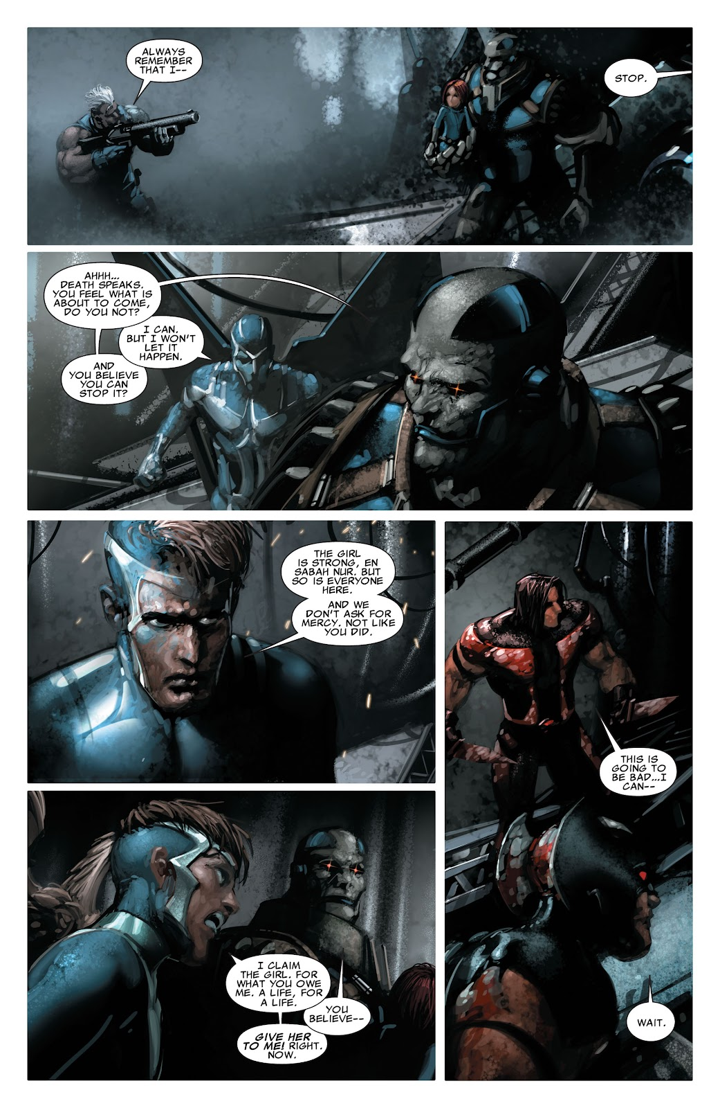Read online X-Force/Cable: Messiah War comic -  Issue # _TPB (Part 2) - 136