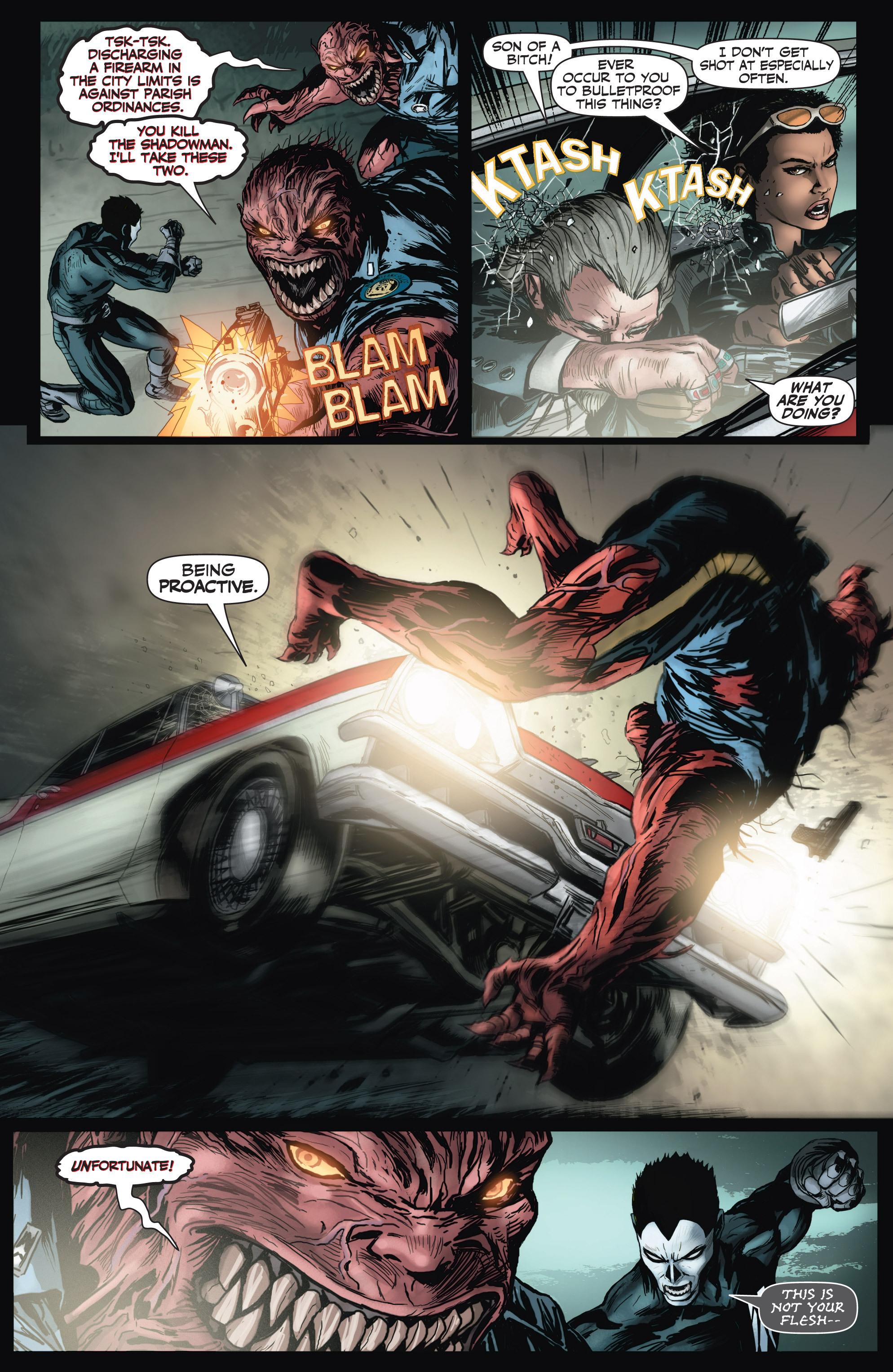 Read online Shadowman (2012) comic -  Issue #2 - 5