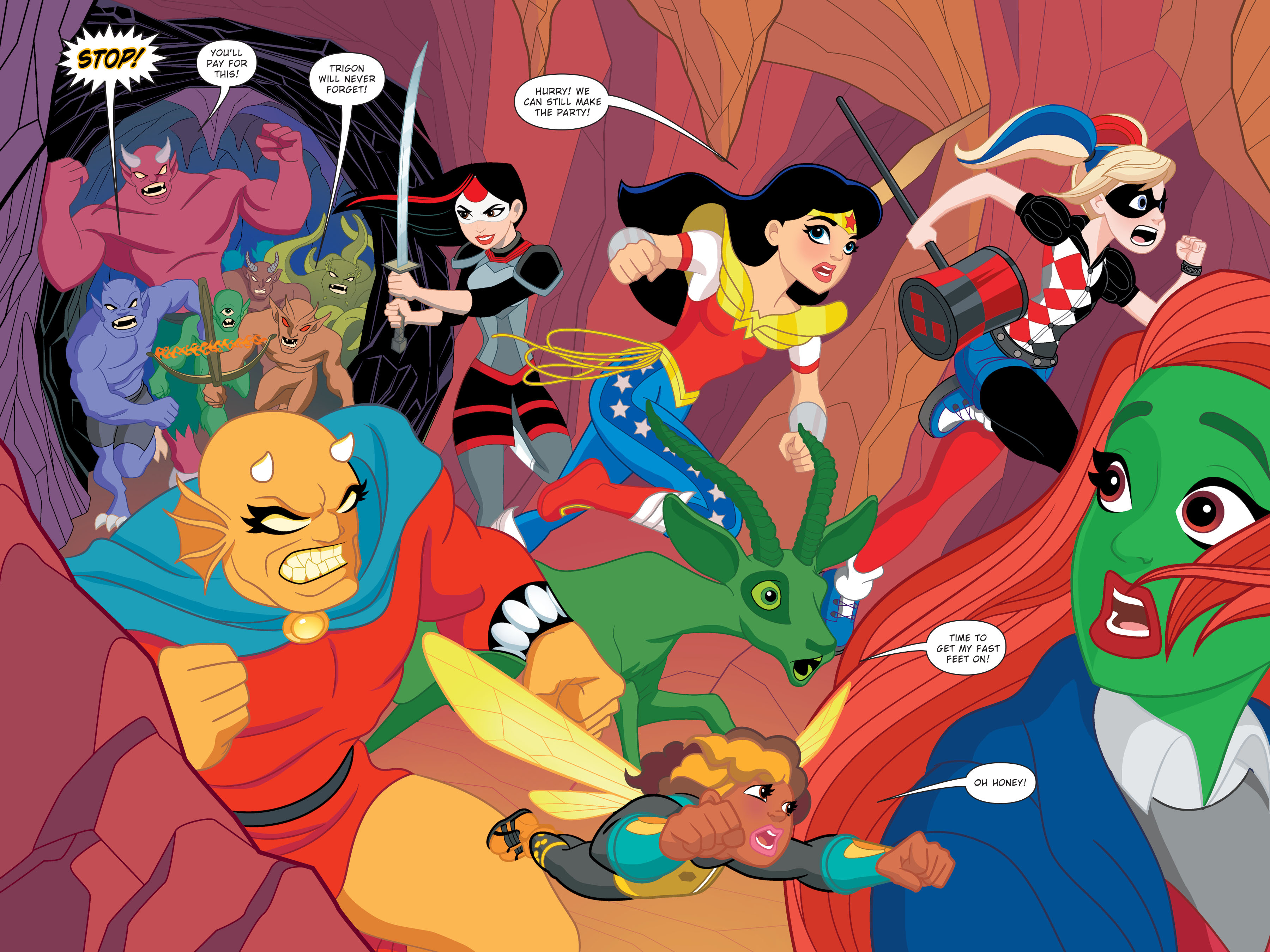 Read online DC Super Hero Girls: Hits and Myths comic -  Issue # Full - 97