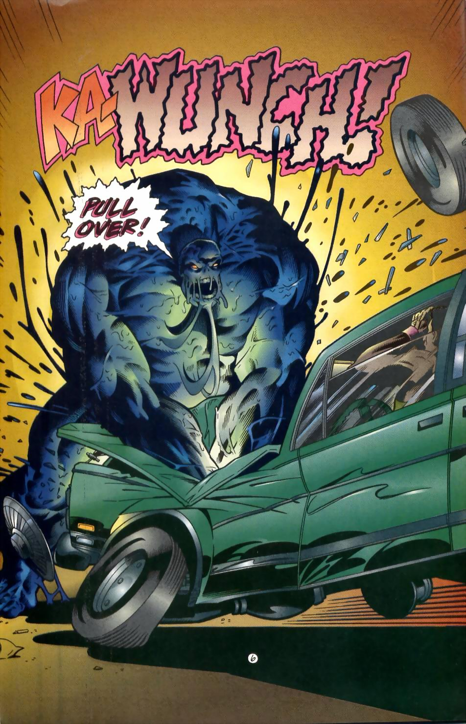 Read online Sludge comic -  Issue #1 - 7