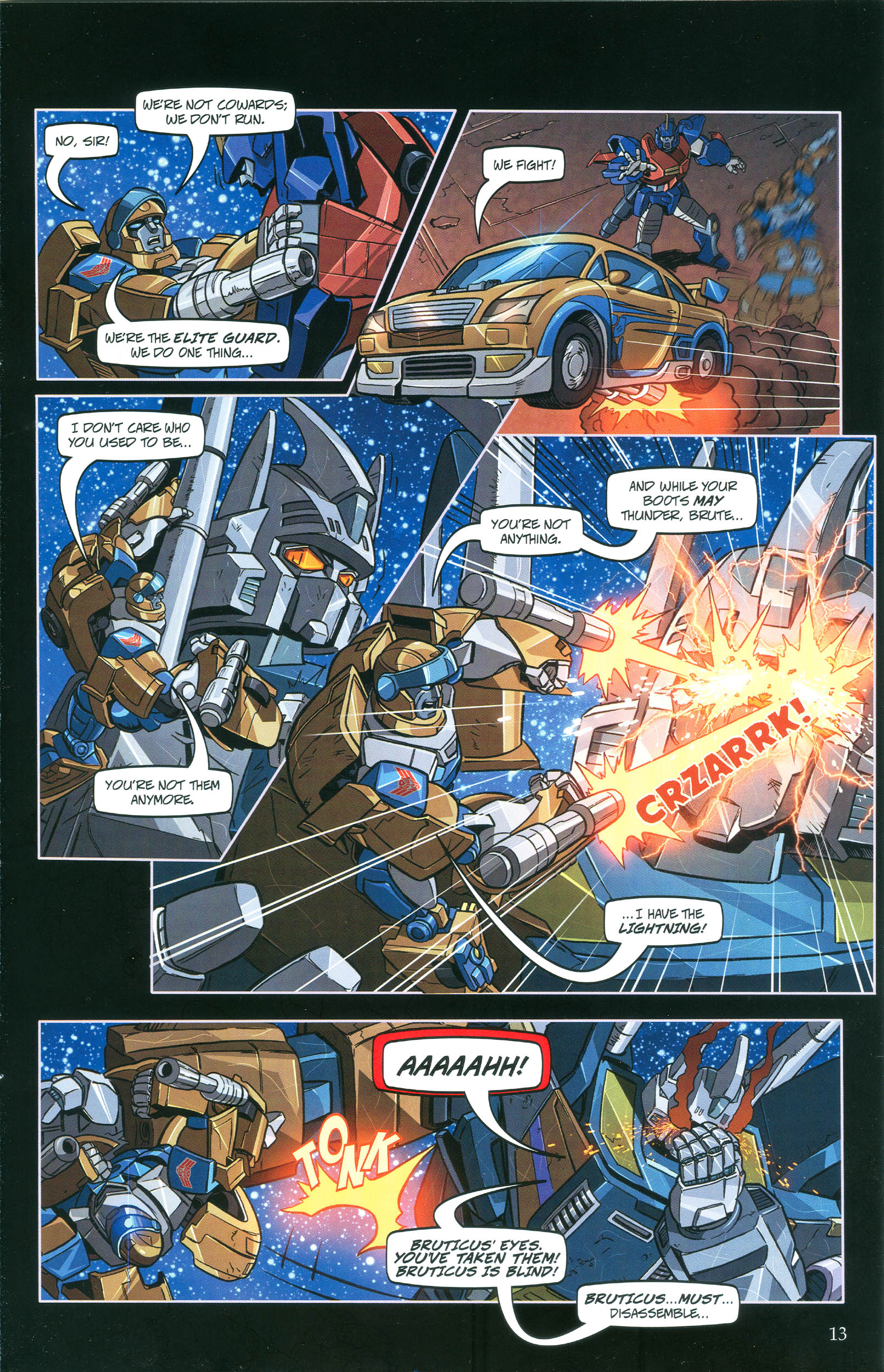 Read online Transformers: Collectors' Club comic -  Issue #36 - 13
