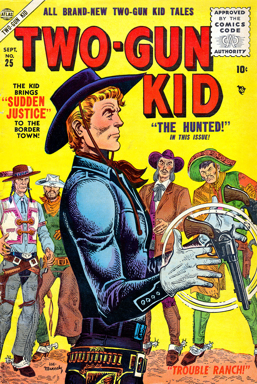 Read online Two-Gun Kid comic -  Issue #25 - 1