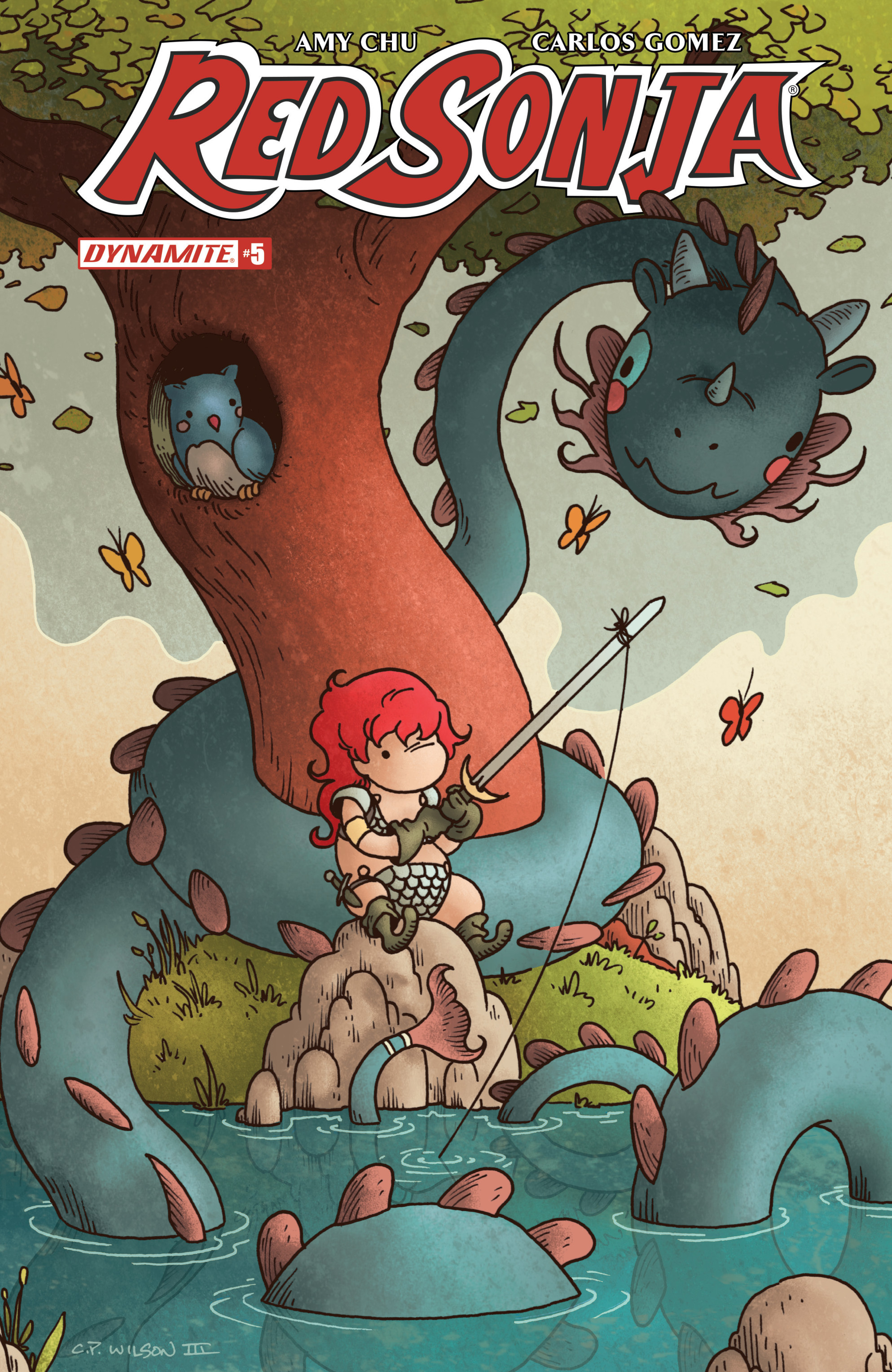 Read online Red Sonja Vol. 4 comic -  Issue #5 - 3