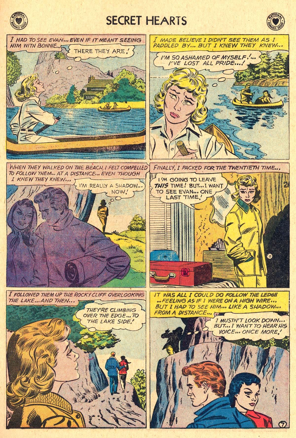 Read online Secret Hearts comic -  Issue #60 - 33