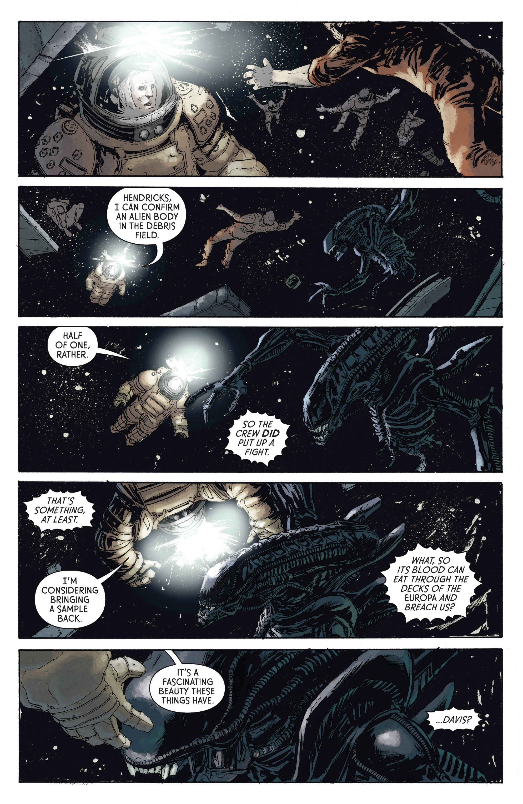 Read online Aliens: Defiance comic -  Issue #4 - 4