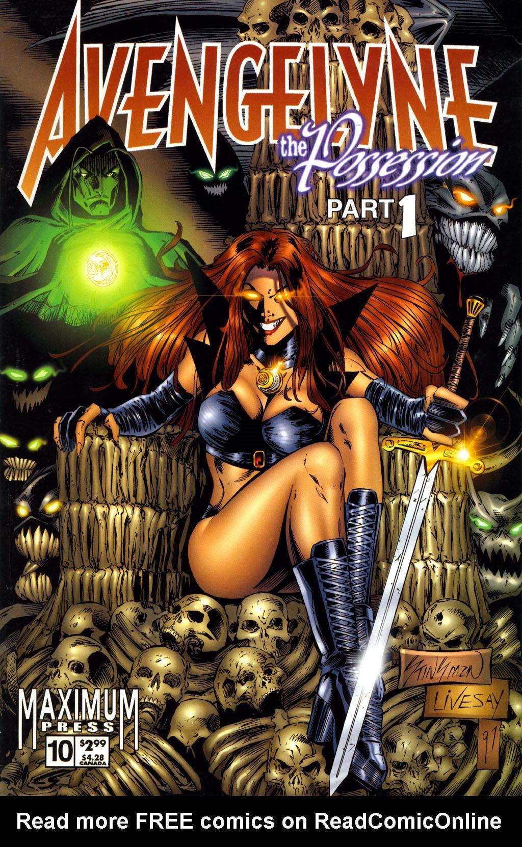 Read online Avengelyne (1996) comic -  Issue #10 - 1