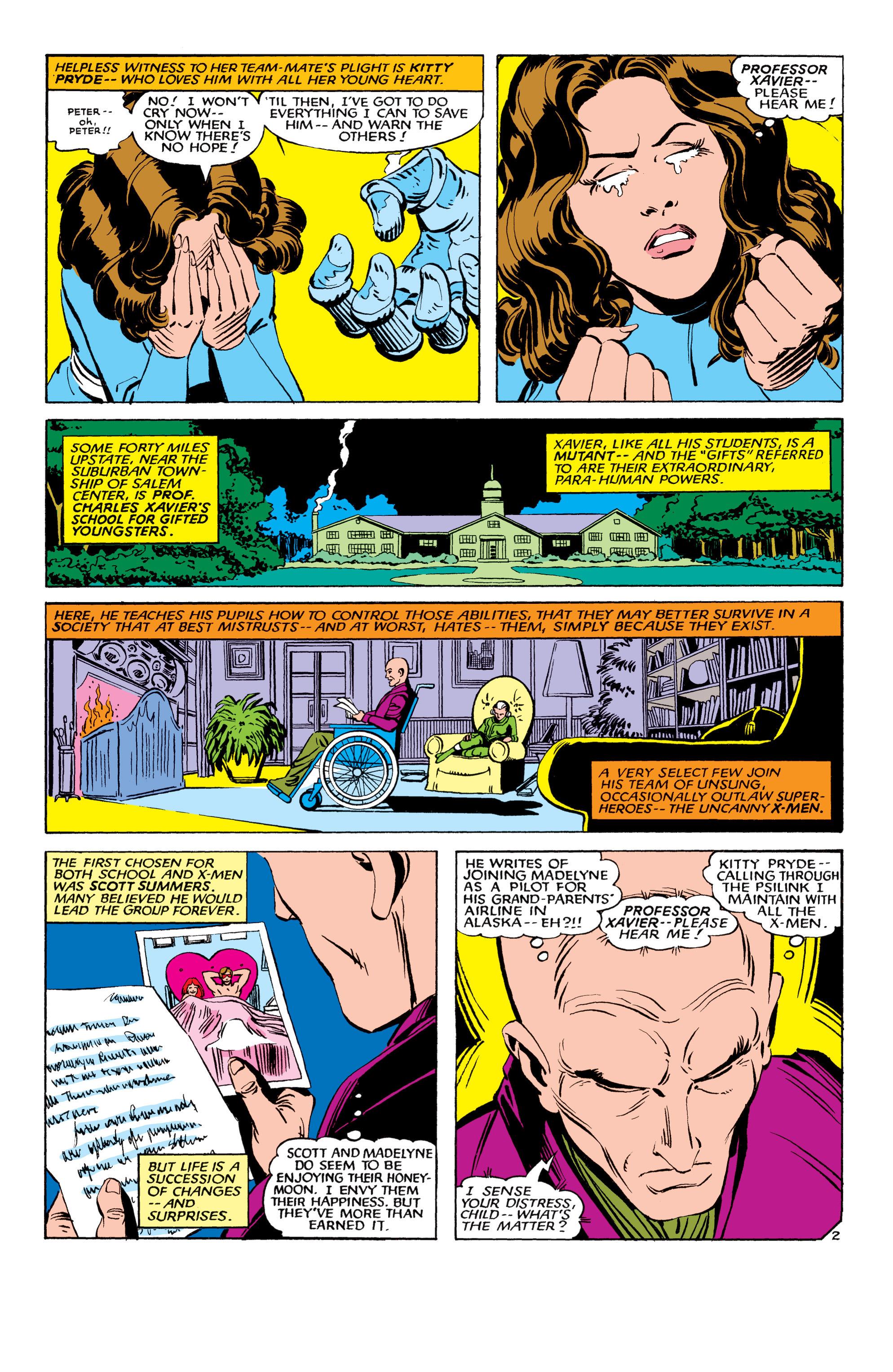 Read online Uncanny X-Men (1963) comic -  Issue #178 - 3