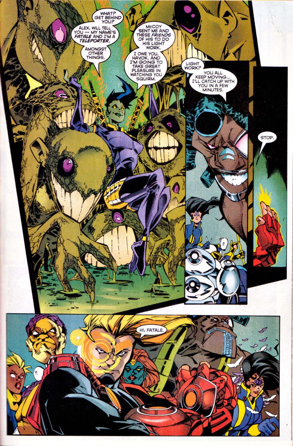Read online X-Factor (1986) comic -  Issue #144 - 15