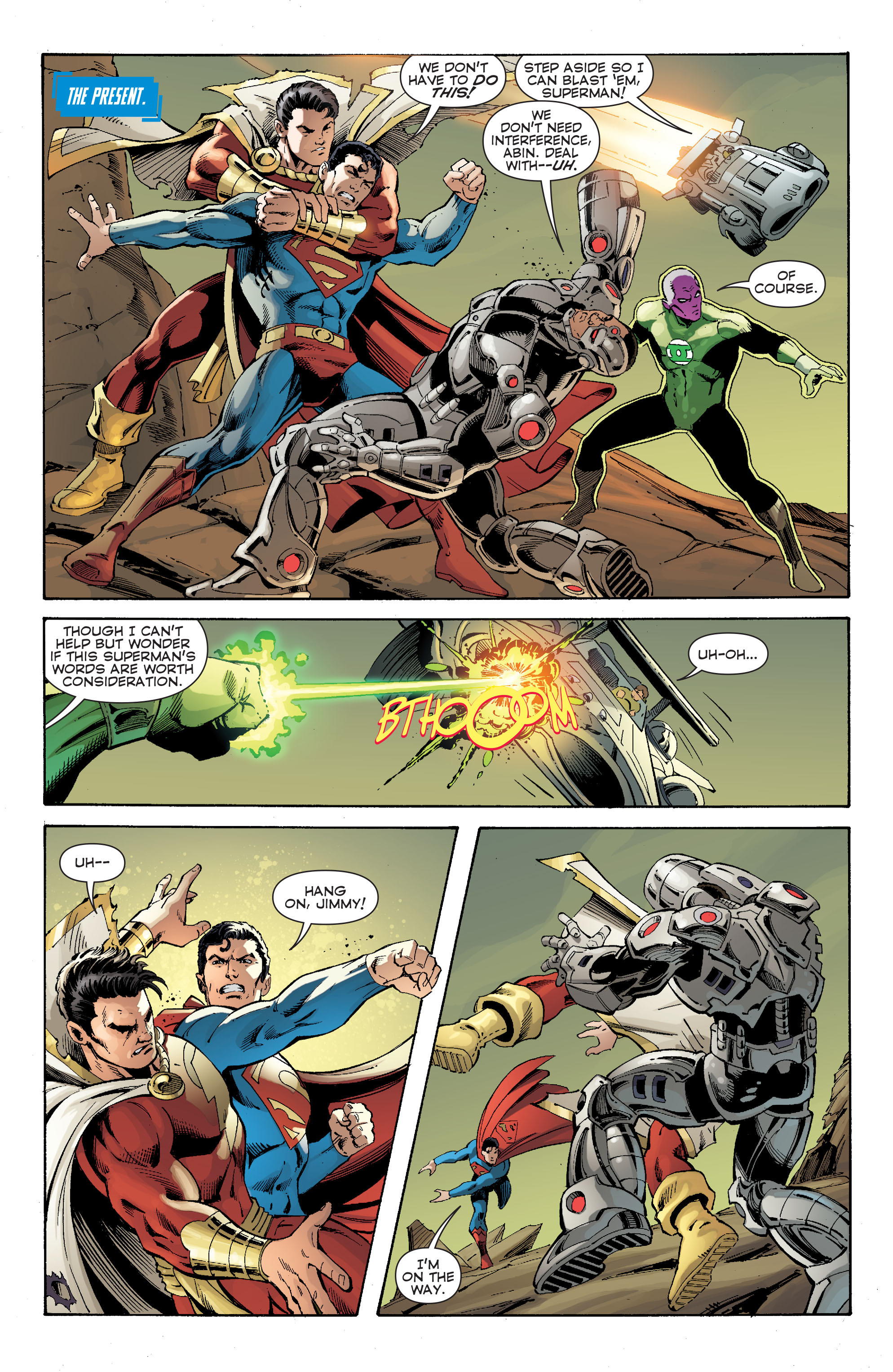 Read online Convergence Superman comic -  Issue #2 - 4