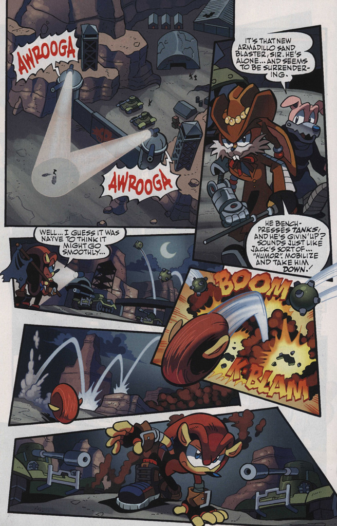 Read online Sonic Universe comic -  Issue #48 - 18