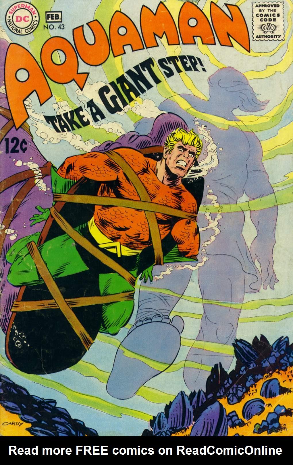 Read online Aquaman (1962) comic -  Issue #43 - 1