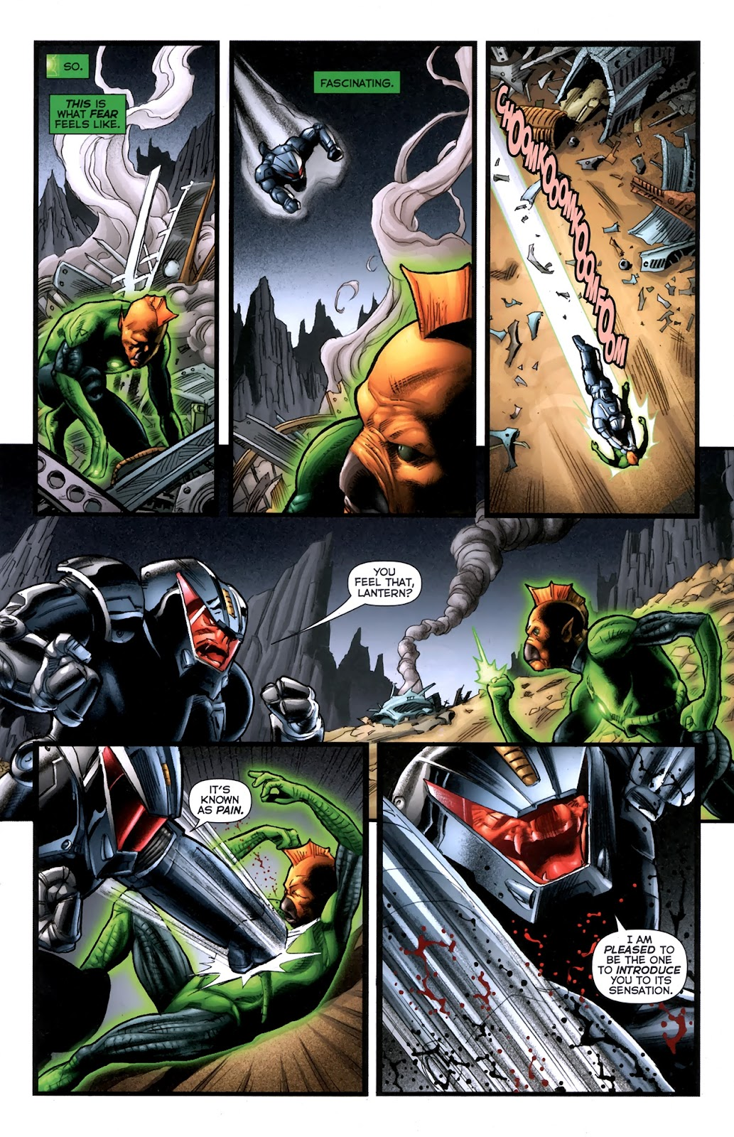 Read online Green Lantern Movie Prequel: Tomar-Re comic -  Issue # Full - 13