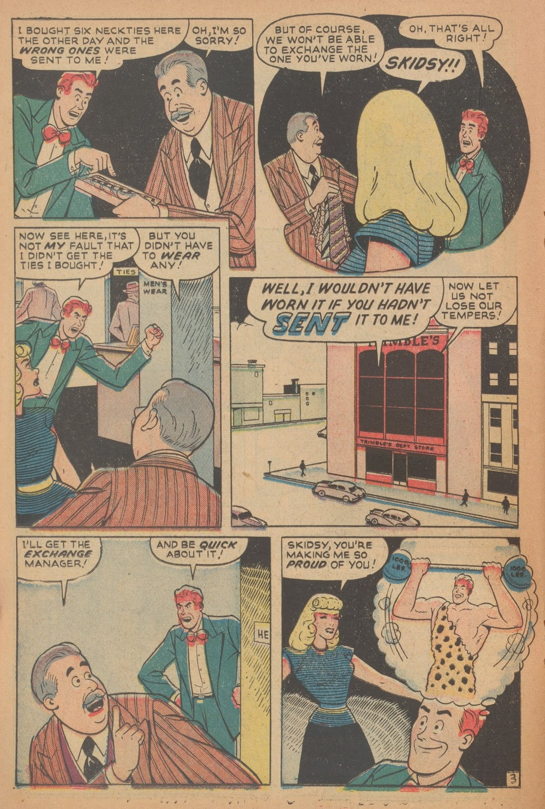 Read online Nellie The Nurse (1945) comic -  Issue #18 - 34