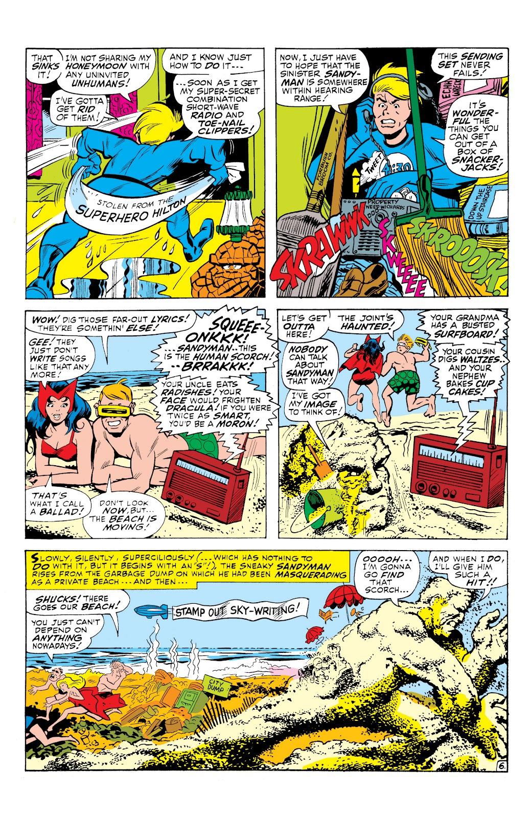 Read online Marvel Masterworks: The Inhumans comic -  Issue # TPB 1 (Part 3) - 23