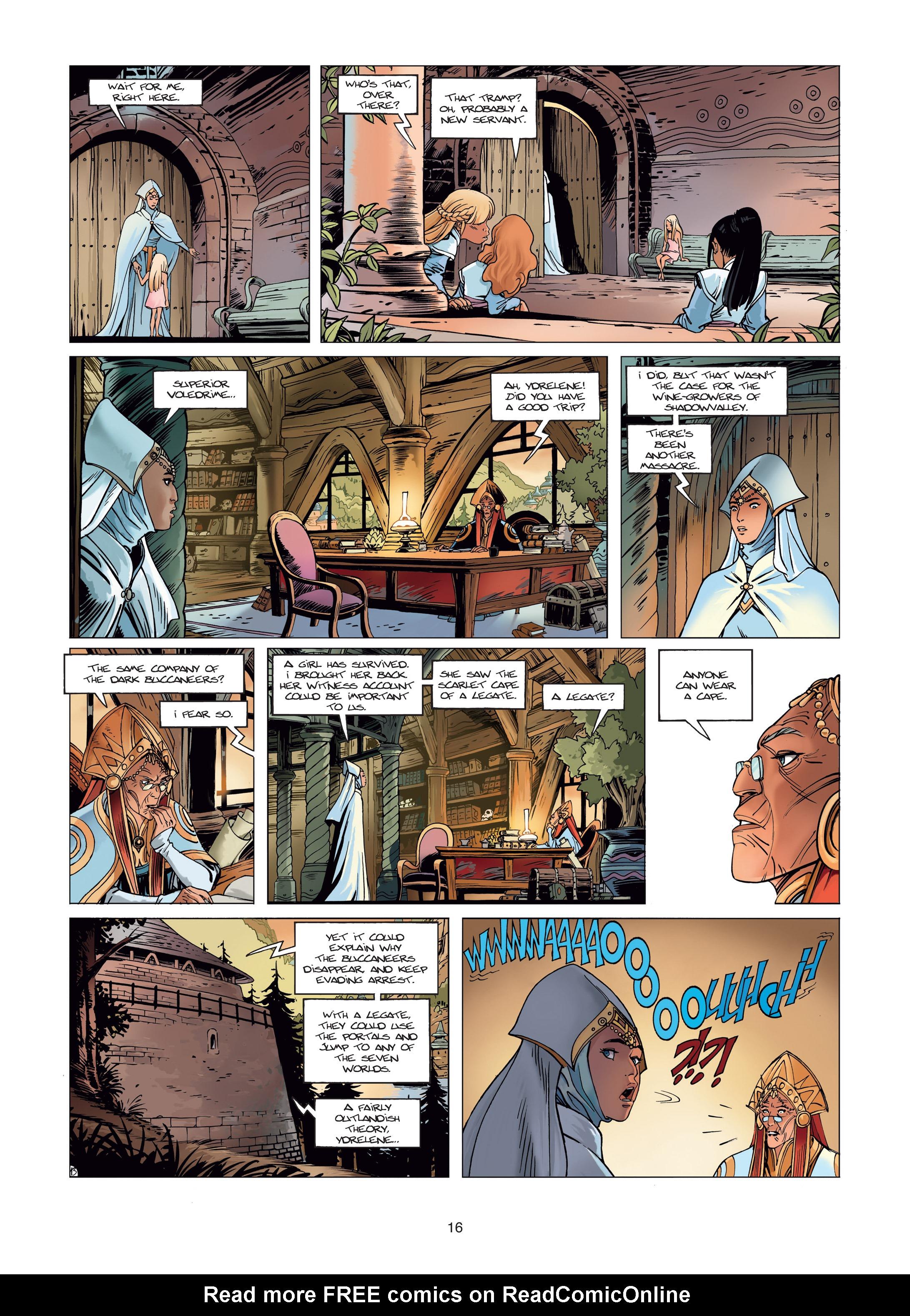 Read online Sangre Vol. 1: Sangre the Survivor comic -  Issue # Full - 16