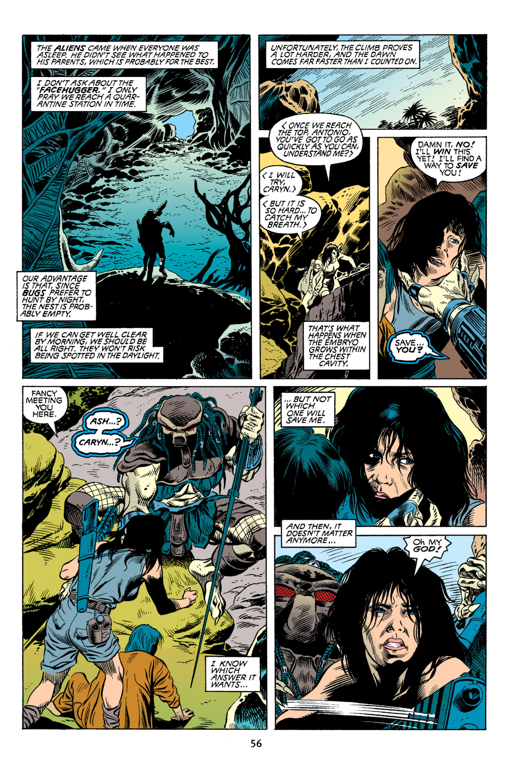 Read online Aliens vs. Predator Omnibus comic -  Issue # _TPB 2 Part 1 - 56