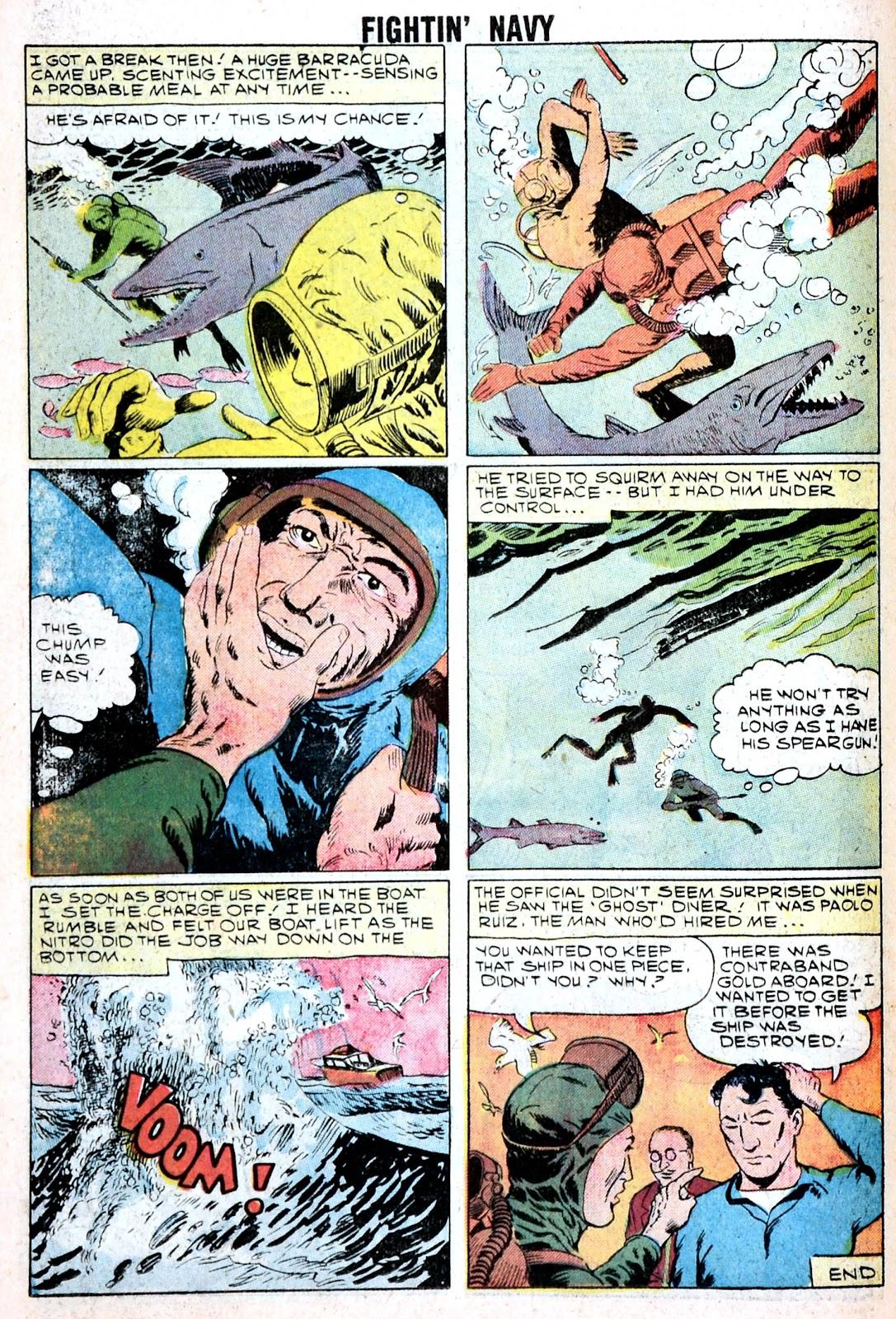 Read online Fightin' Navy comic -  Issue #85 - 26