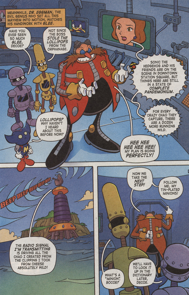 Read online Sonic X comic -  Issue #6 - 13