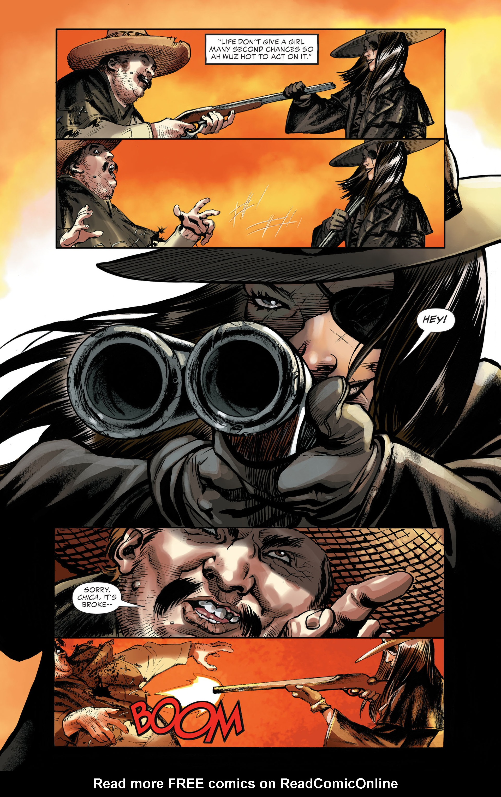 Read online All-Star Western (2011) comic -  Issue #32 - 17