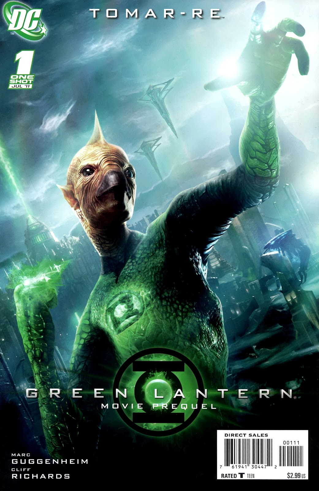 Read online Green Lantern Movie Prequel: Tomar-Re comic -  Issue # Full - 1