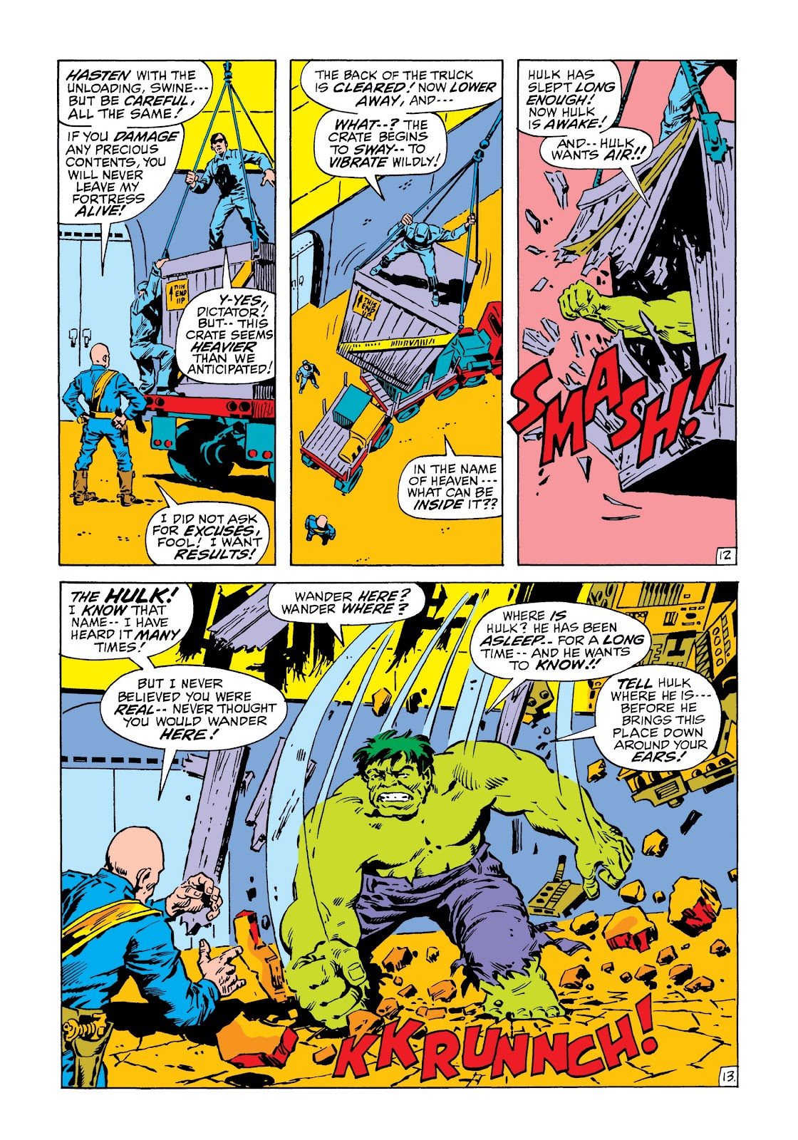 Read online Marvel Masterworks: The Incredible Hulk comic -  Issue # TPB 6 (Part 3) - 46
