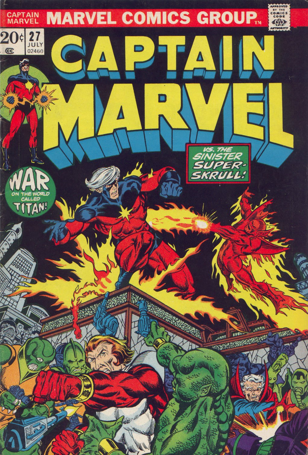 Captain Marvel (1968) 27 Page 1