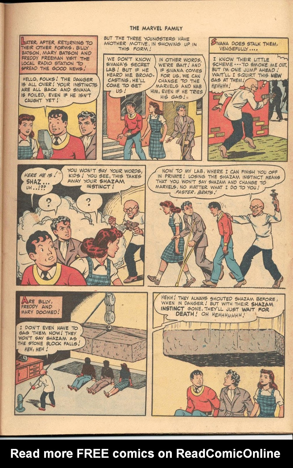 The Marvel Family issue 38 - Page 11
