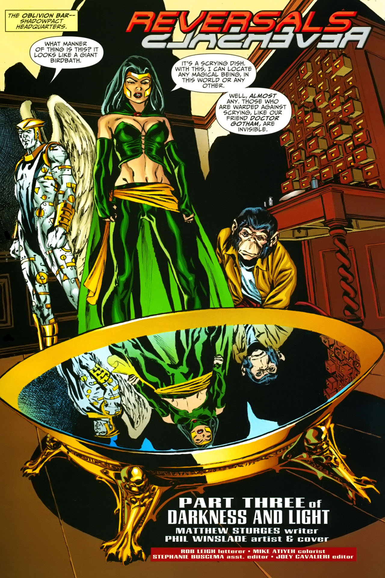 Read online Shadowpact comic -  Issue #19 - 2
