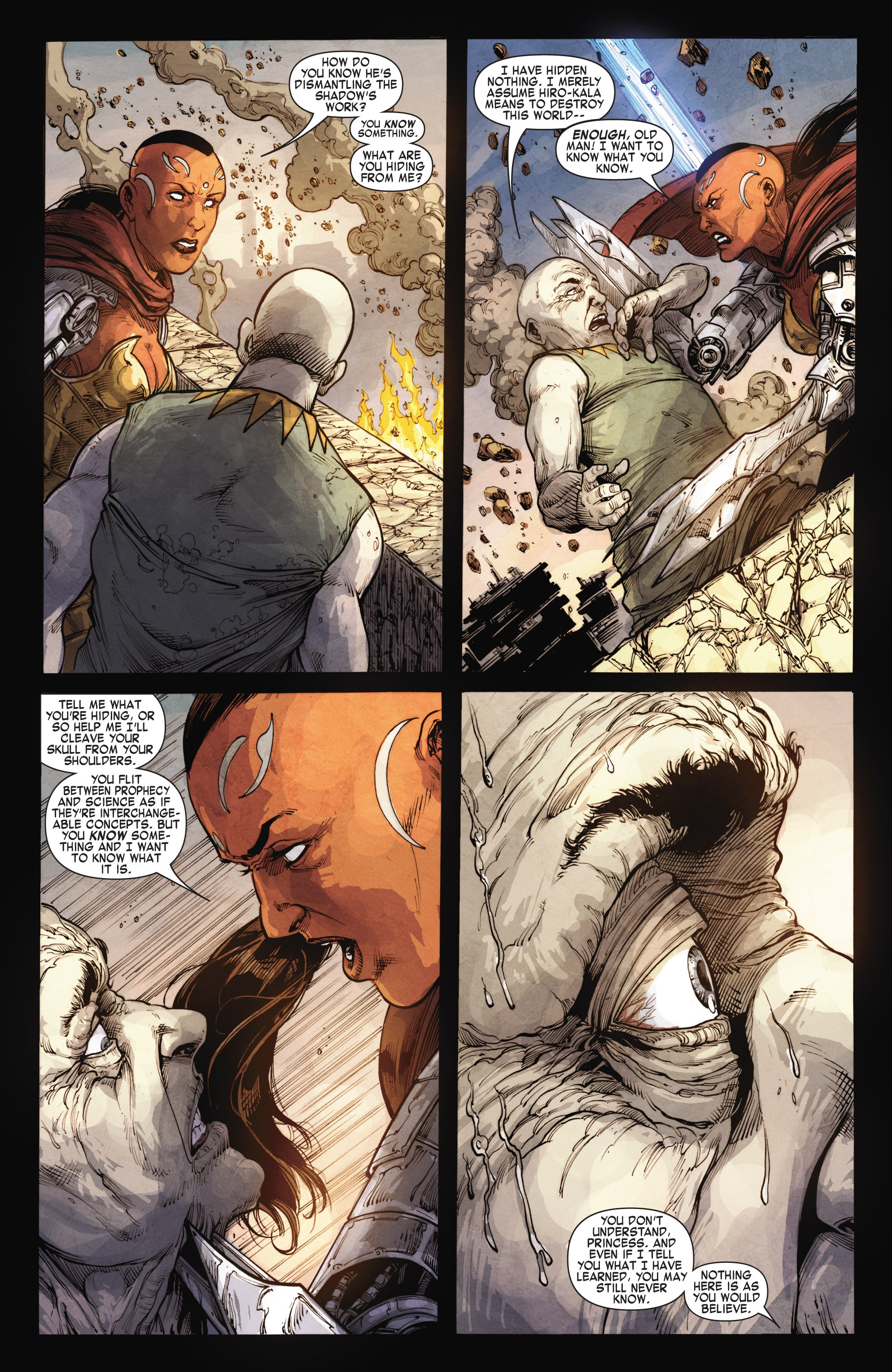 Read online Skaar: Son of Hulk comic -  Issue #15 - 15