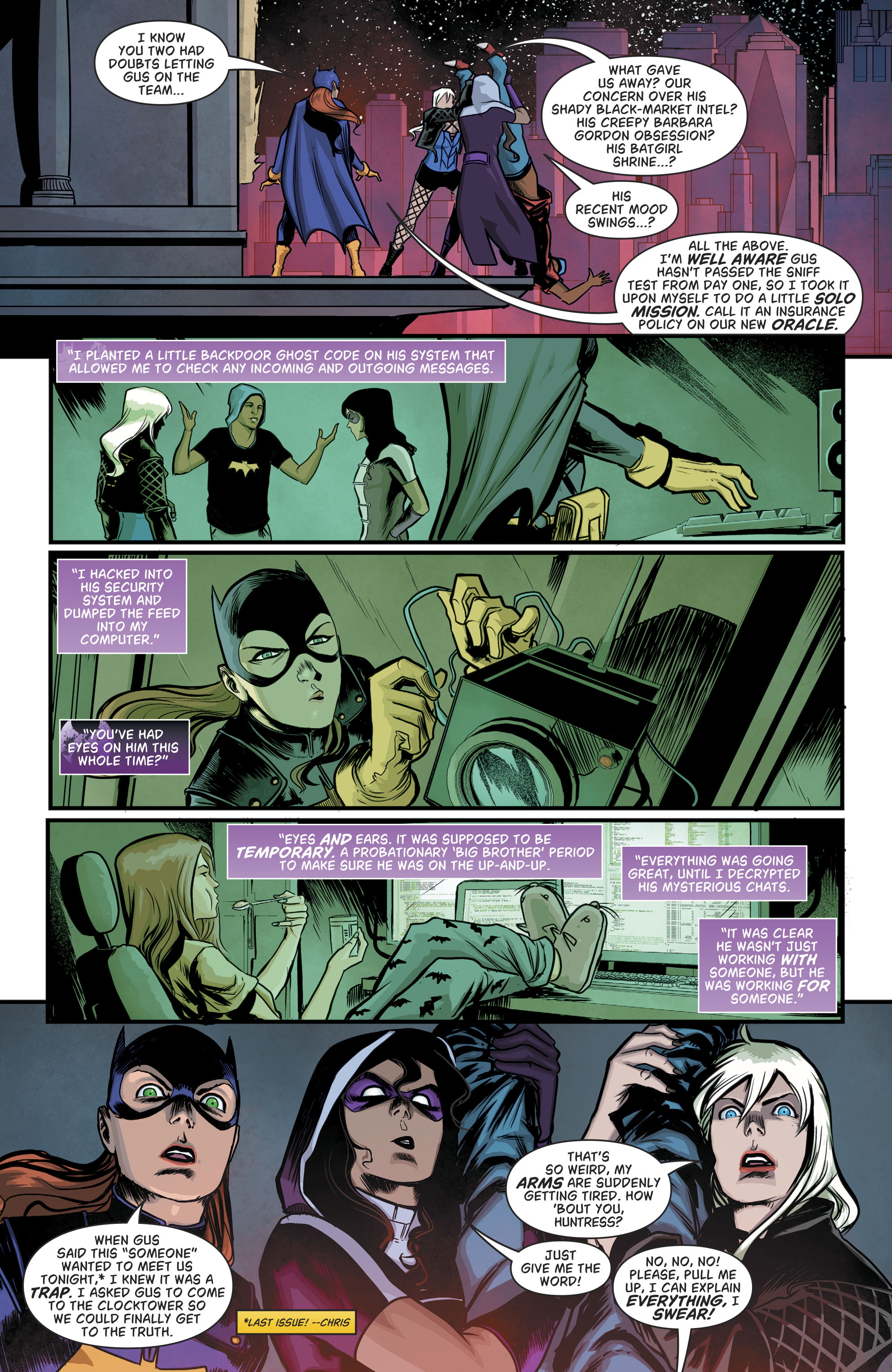 Read online Batgirl and the Birds of Prey comic -  Issue #11 - 5