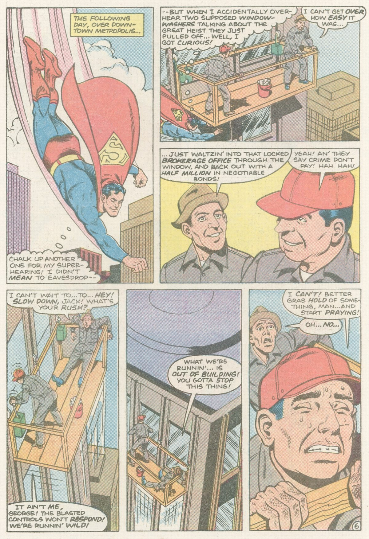 Read online Action Comics (1938) comic -  Issue #570 - 7