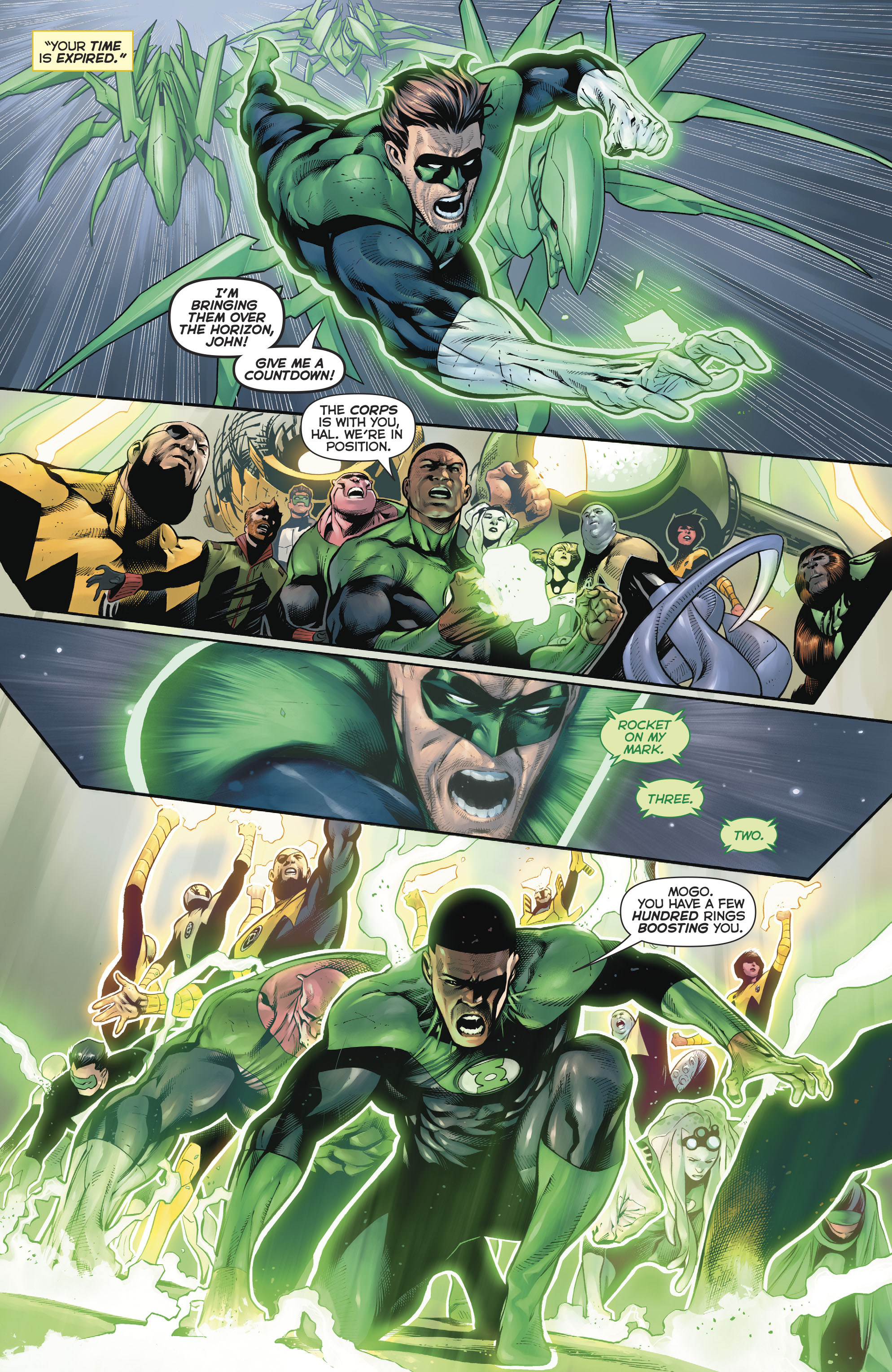 Read online Hal Jordan And The Green Lantern Corps comic -  Issue #20 - 10