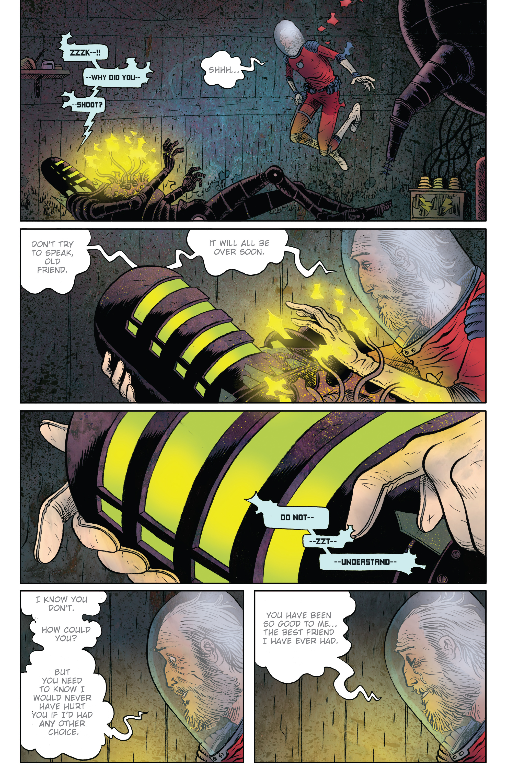 Read online Black Hammer comic -  Issue #9 - 11