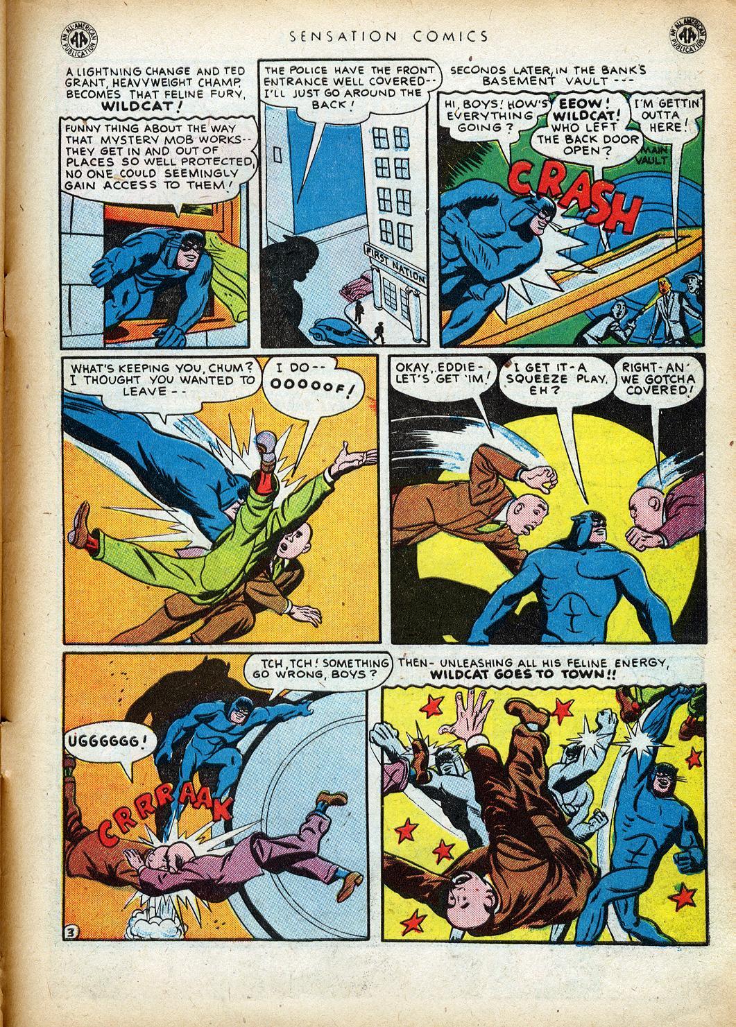 Read online Sensation (Mystery) Comics comic -  Issue #40 - 45