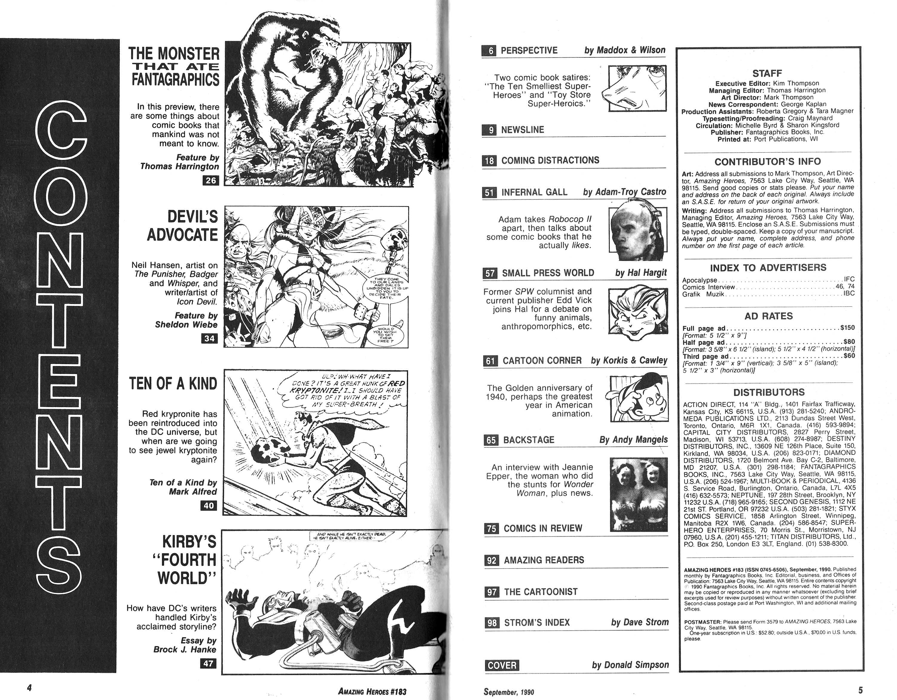 Read online Amazing Heroes comic -  Issue #183 - 3