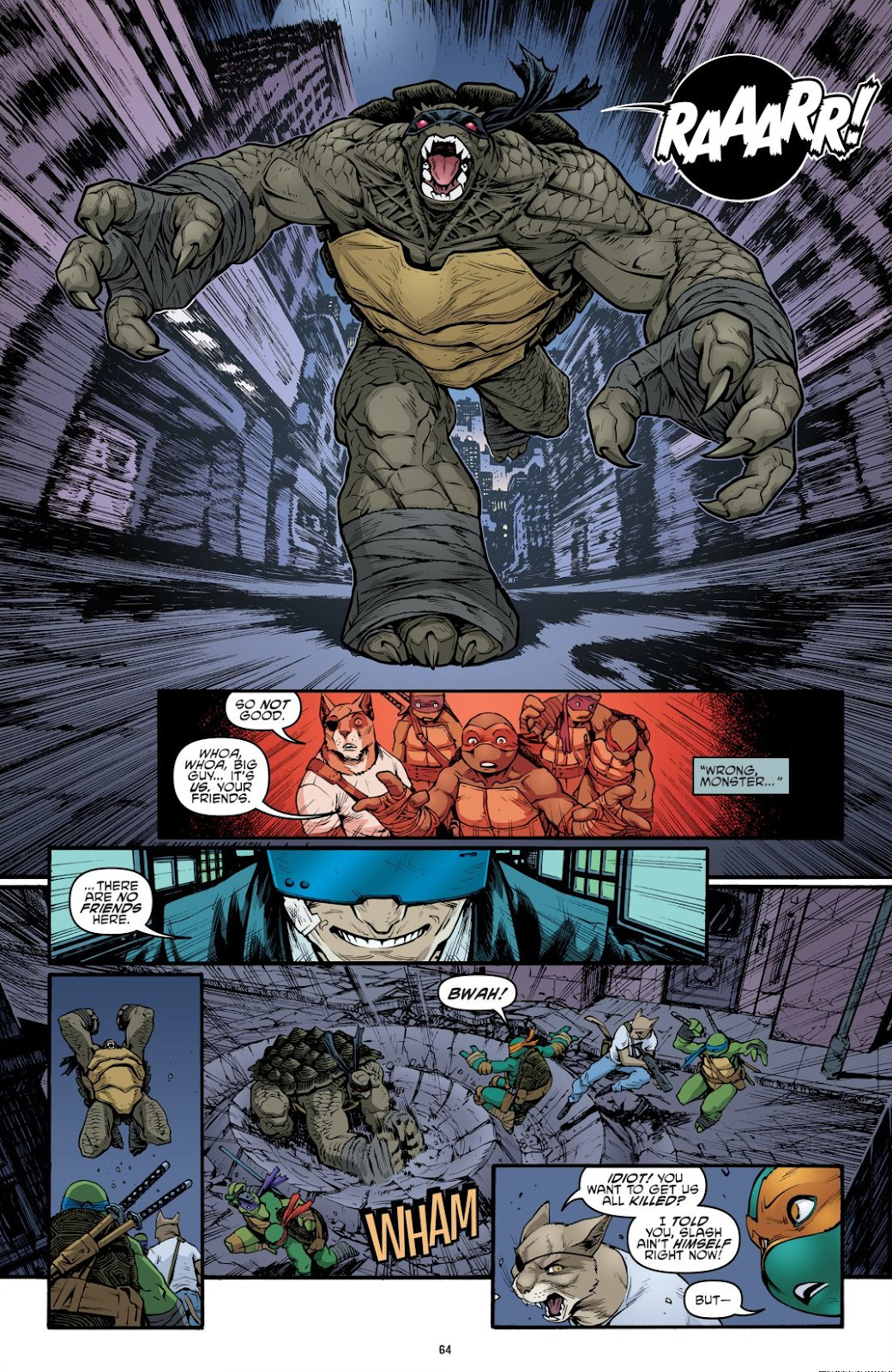 Read online Teenage Mutant Ninja Turtles: The IDW Collection comic -  Issue # TPB 9 (Part 1) - 65