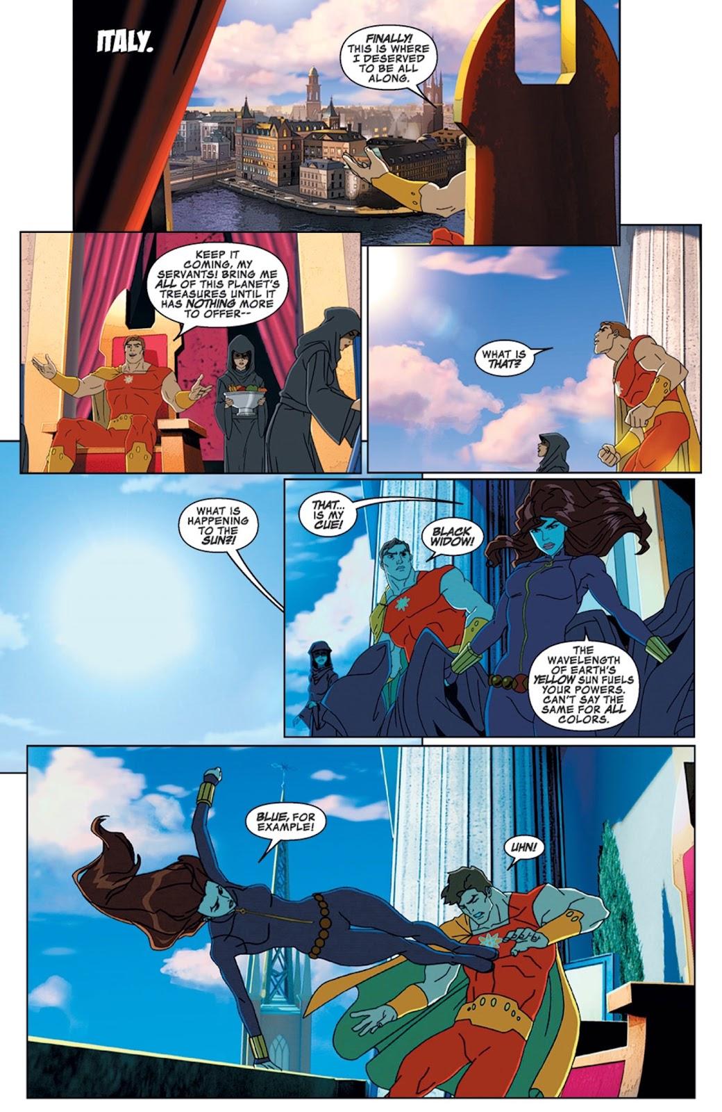 Read online Marvel Universe Avengers Assemble Season 2 comic -  Issue #14 - 16