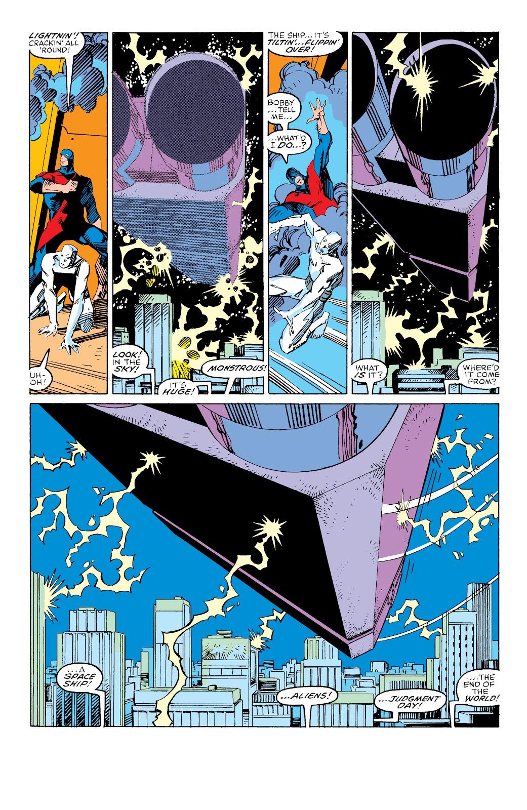 Read online X-Men Milestones: Fall of the Mutants comic -  Issue # TPB (Part 3) - 20
