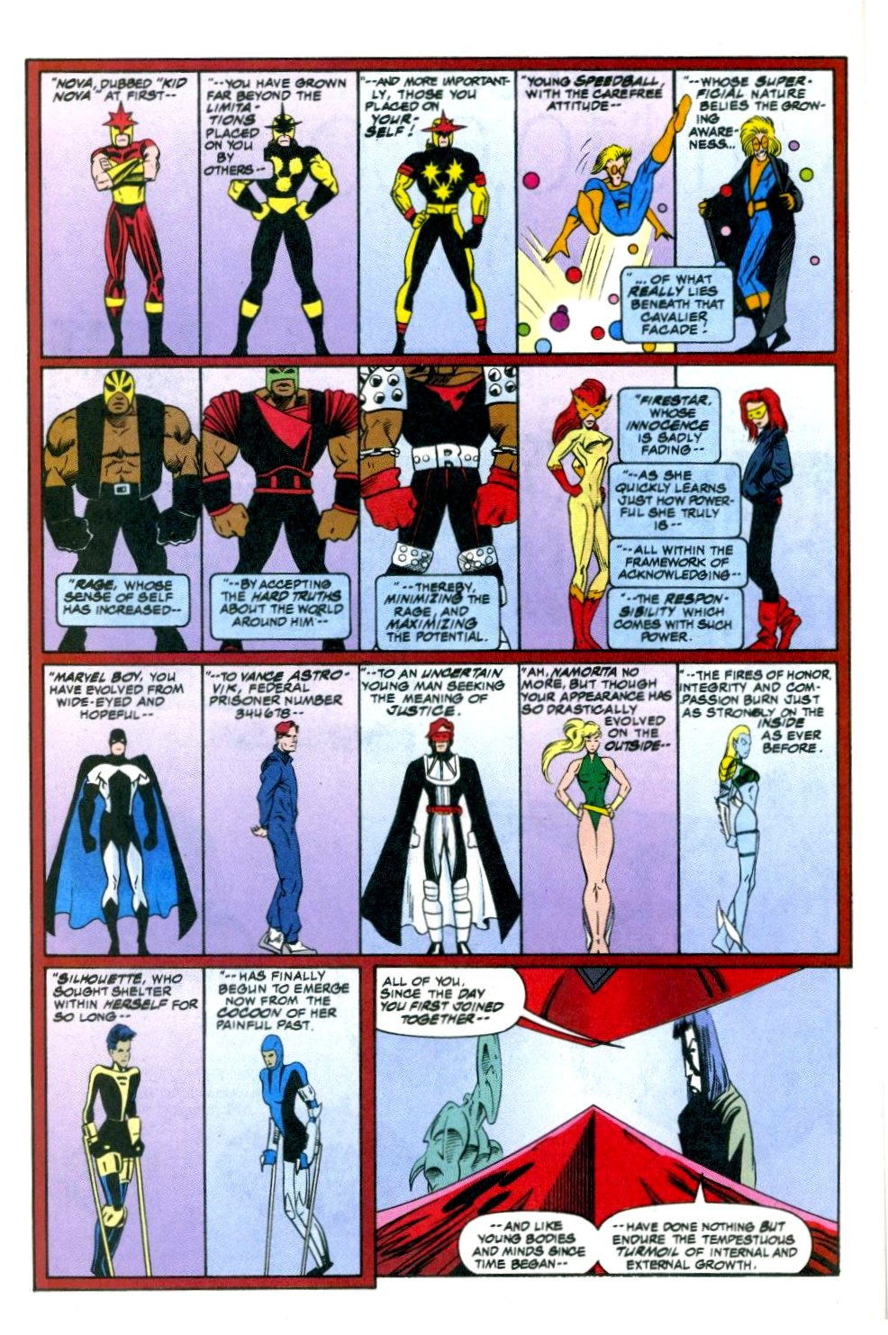 The New Warriors Issue #51 #55 - English 20