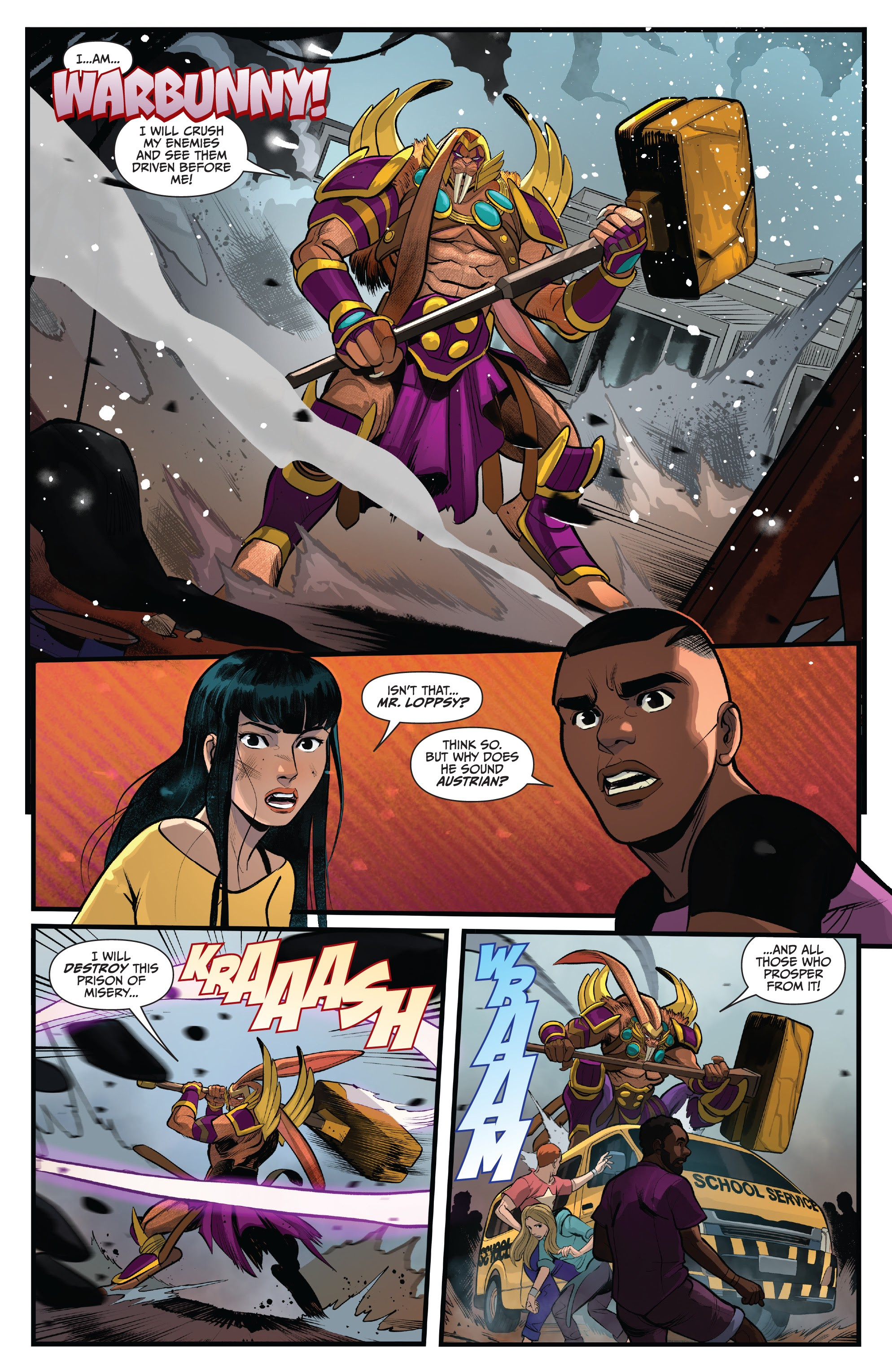 Read online Saban's Go Go Power Rangers comic -  Issue #22 - 17
