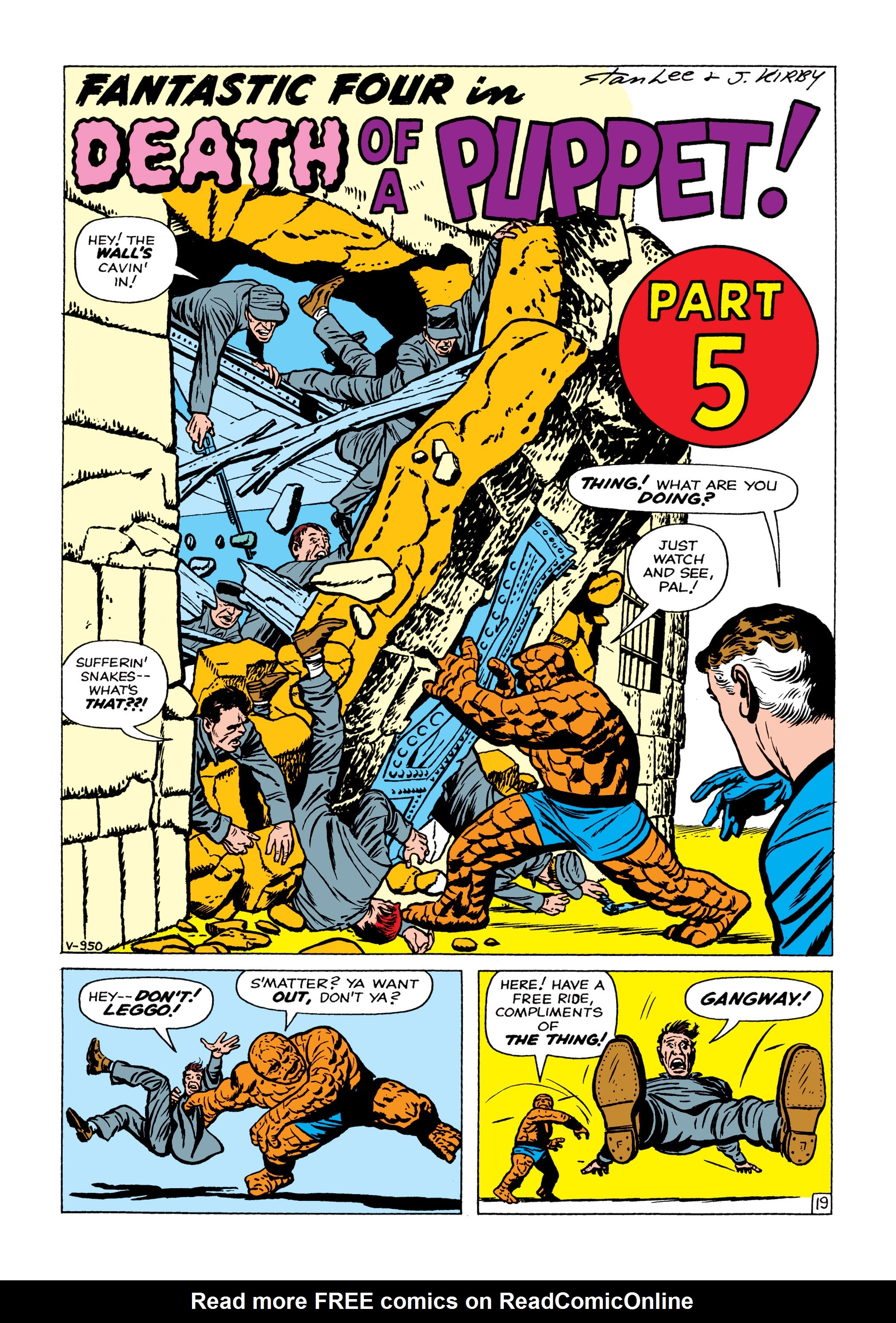 Marvel Masterworks: The Fantastic Four TPB_1_(Part_3) Page 1